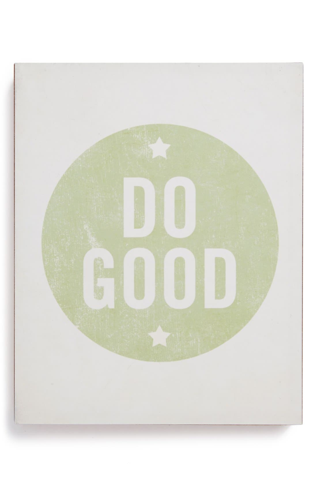 Alternate Image 1 Selected - Lucius Designs 'Do Good' Wall Art