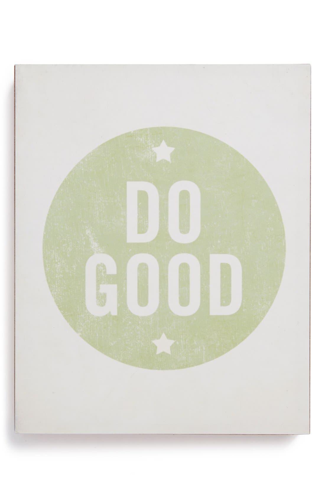 Main Image - Lucius Designs 'Do Good' Wall Art