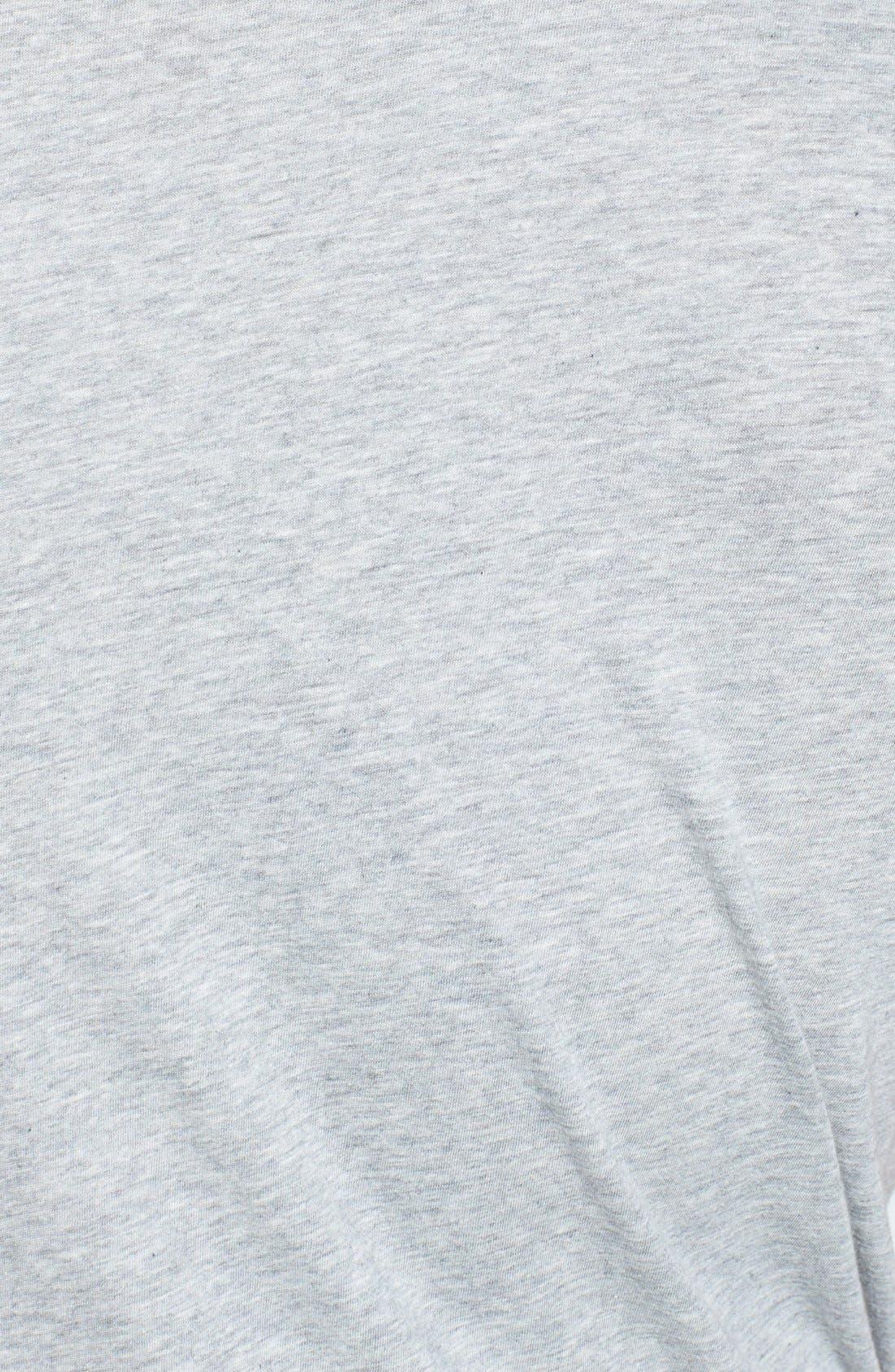 Alternate Image 3  - French Connection 'Lunar' Slim Fit V-Neck Jersey Polo Shirt