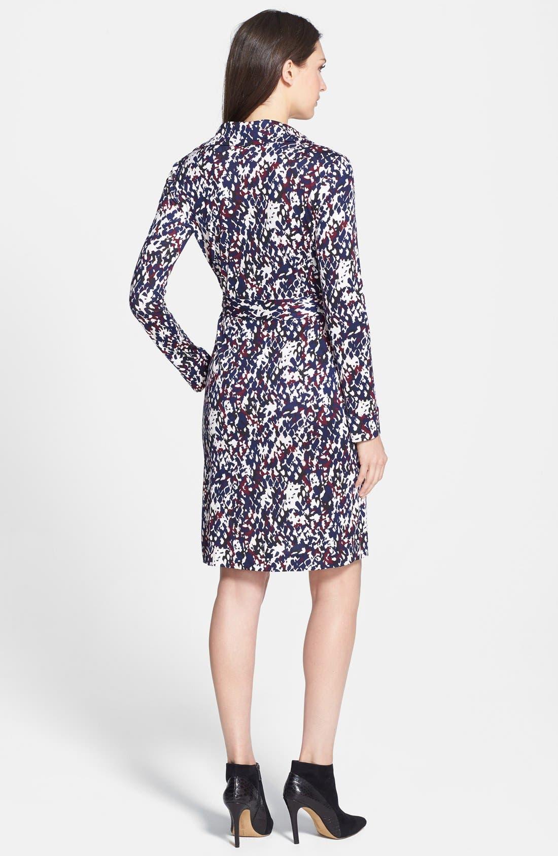 Alternate Image 2  - Diane von Furstenberg 'New Jeanne Two' Print Silk Wrap Dress