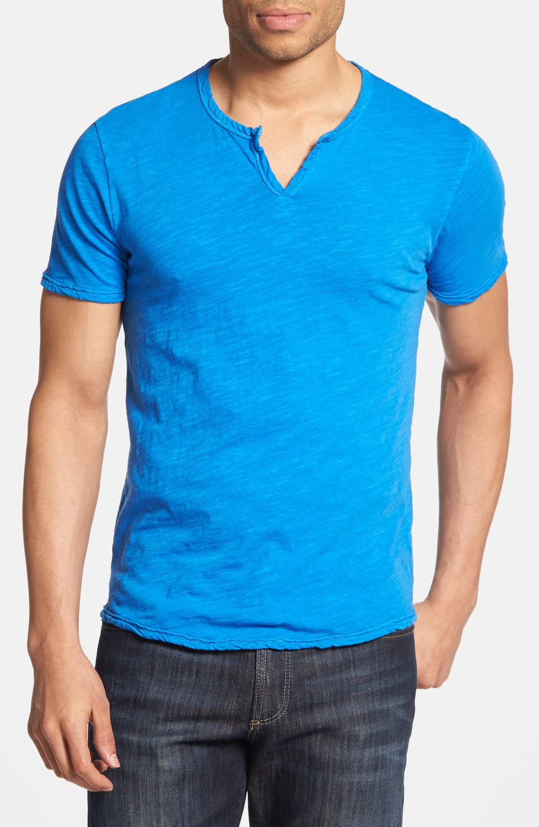 Alternate Image 1 Selected - Lucky Brand Notch Neck T-Shirt