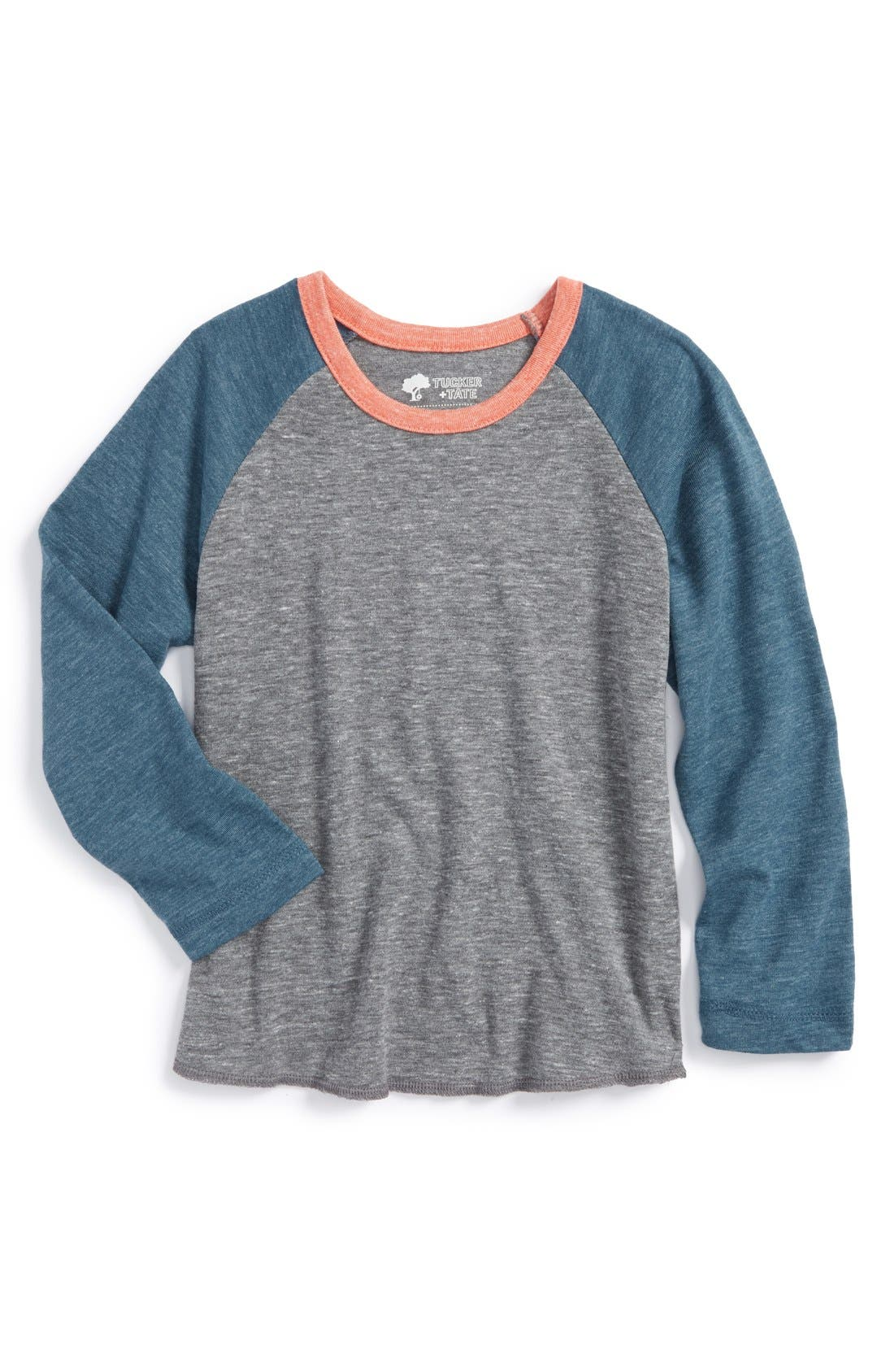 Alternate Image 1 Selected - Tucker + Tate 'Palmer' Long Sleeve Raglan T-Shirt (Toddler Boys)