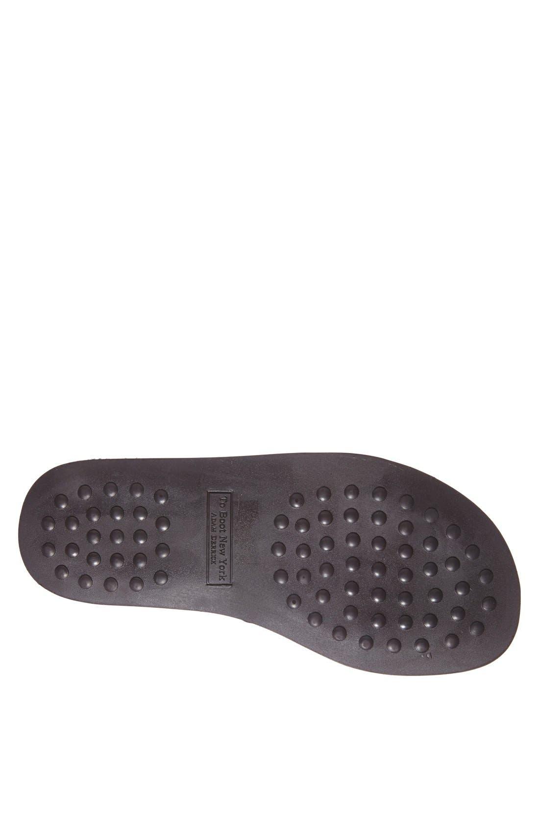 Alternate Image 4  - To Boot New York 'Ibiza' Leather Slide Sandal