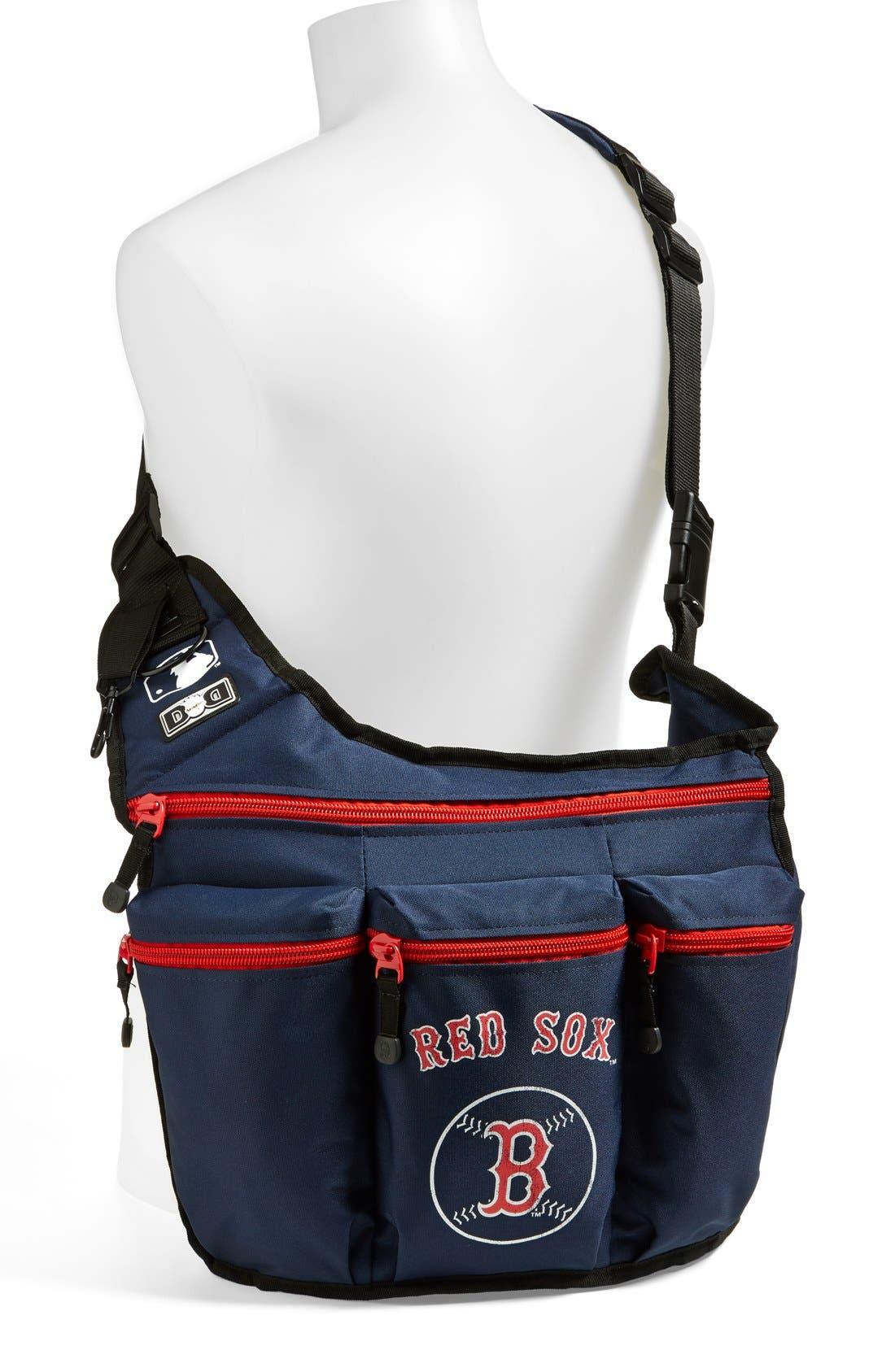 Alternate Image 2  - Diaper Dude 'Boston Red Sox' Messenger Diaper Bag
