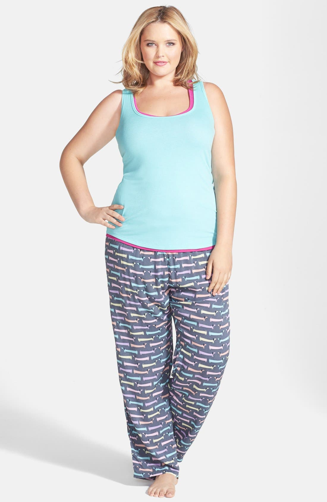 Alternate Image 4  - PJ Salvage 'Challe Chic' Pants (Plus Size) (Nordstrom Online Exclusive)