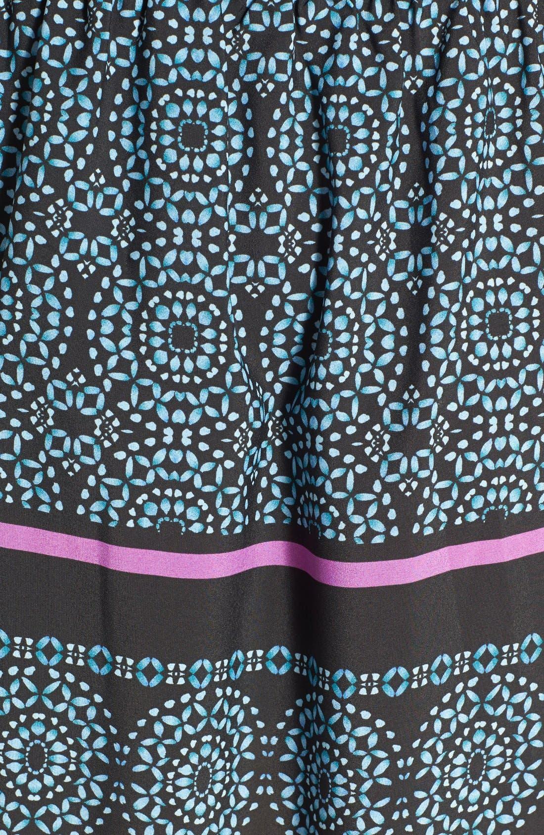 Alternate Image 3  - Like Mynded Print Caftan Midi Dress