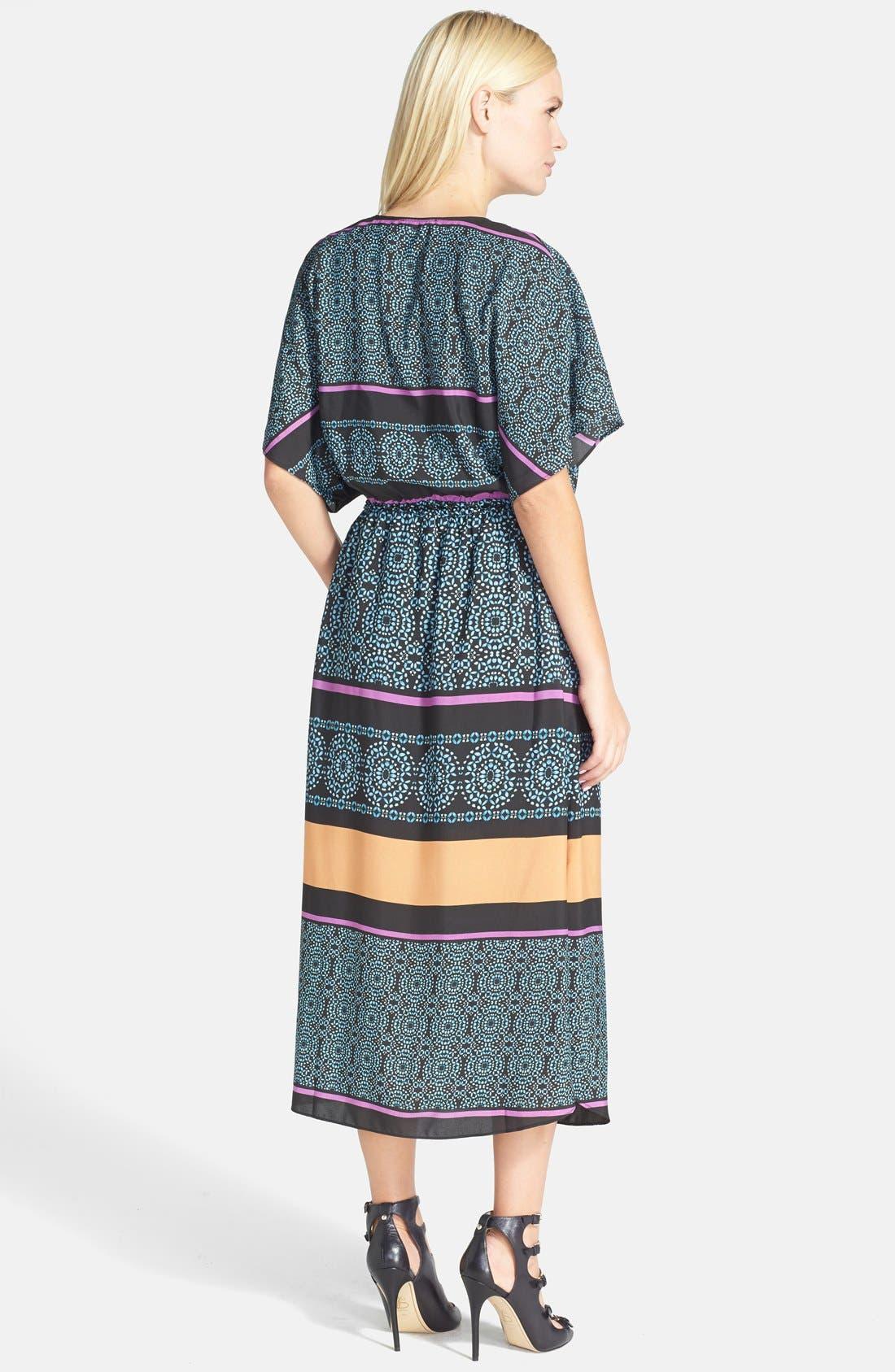 Alternate Image 2  - Like Mynded Print Caftan Midi Dress
