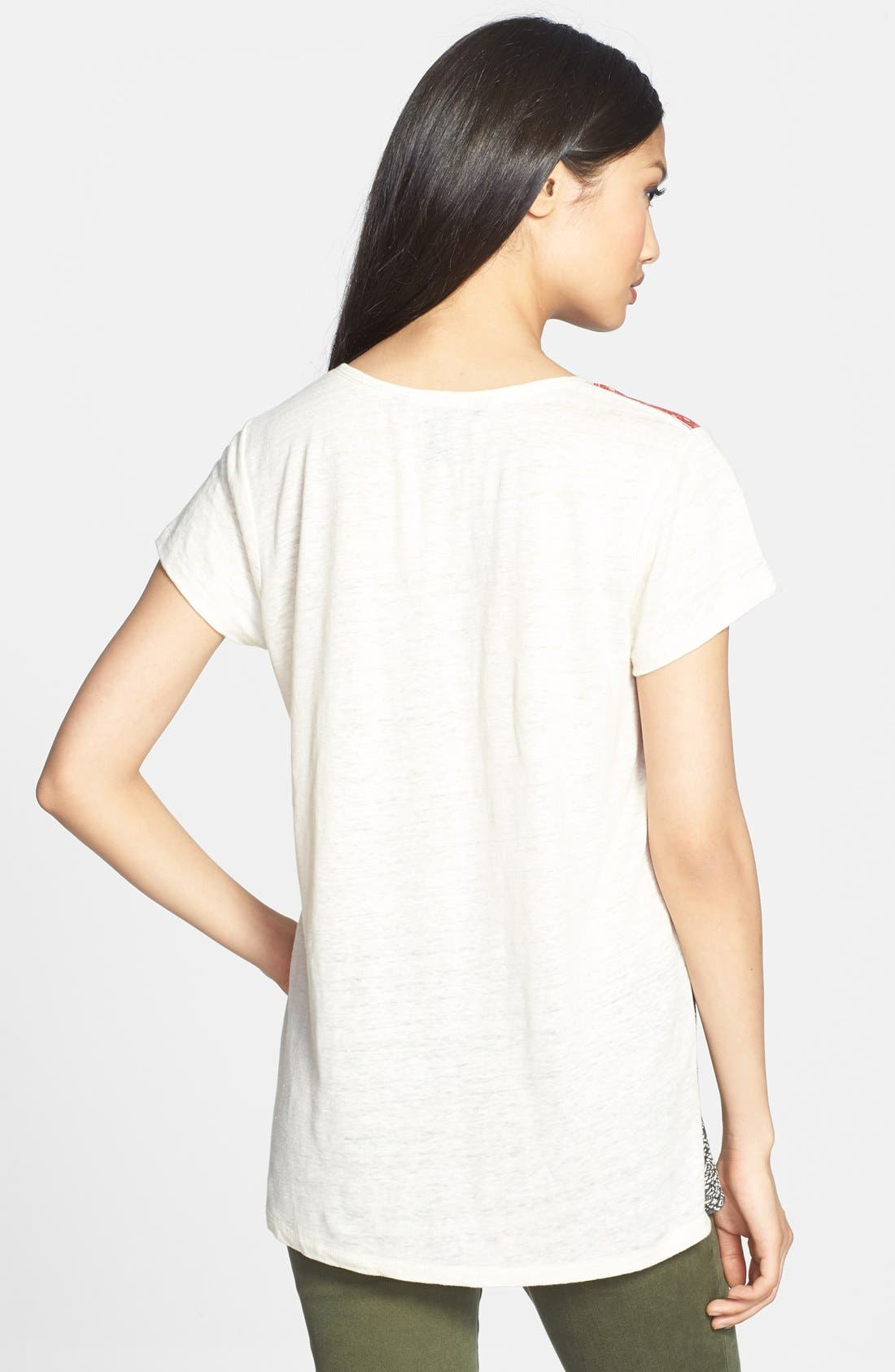 Alternate Image 2  - MARC BY MARC JACOBS 'Prachi' Patchwork Tee