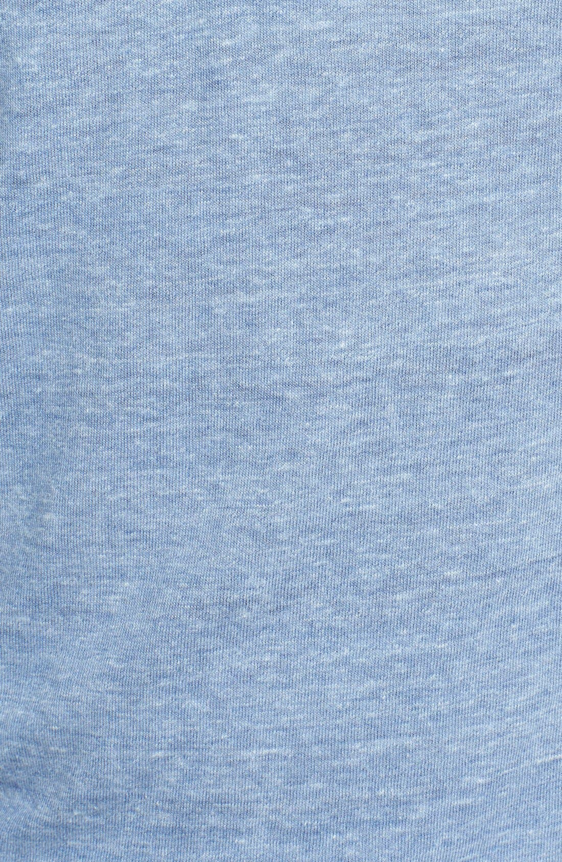 Alternate Image 3  - Lucky Brand Garment Washed Henley (Online Only)