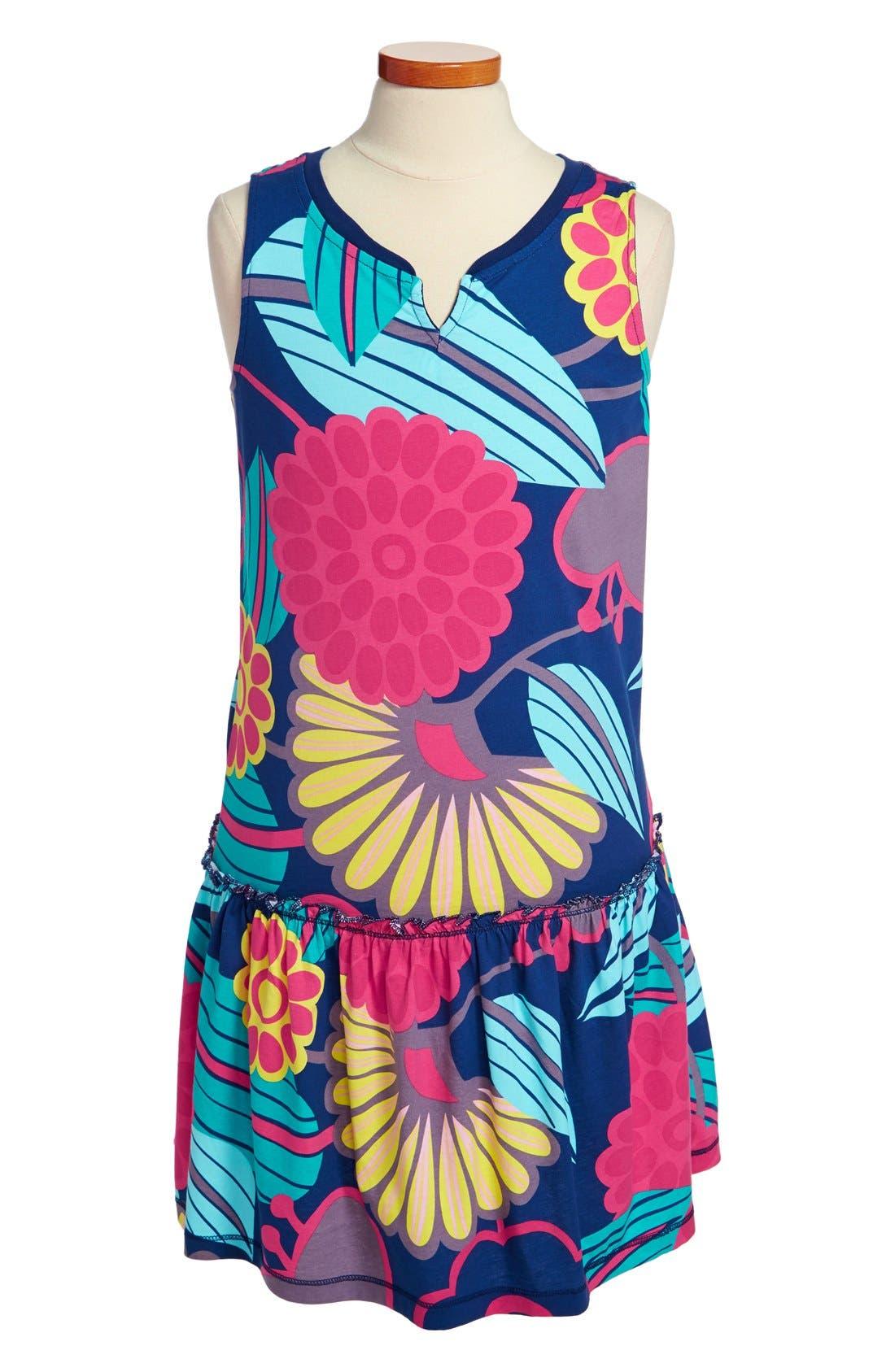 Main Image - Tea Collection 'Mod Gypsy' Print Dress (Toddler Girls, Little Girls & Big Girls)