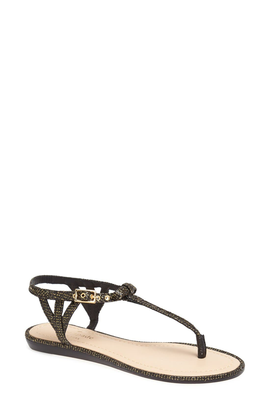 Alternate Image 1 Selected - kate spade new york 'andrea' flat thong sandal