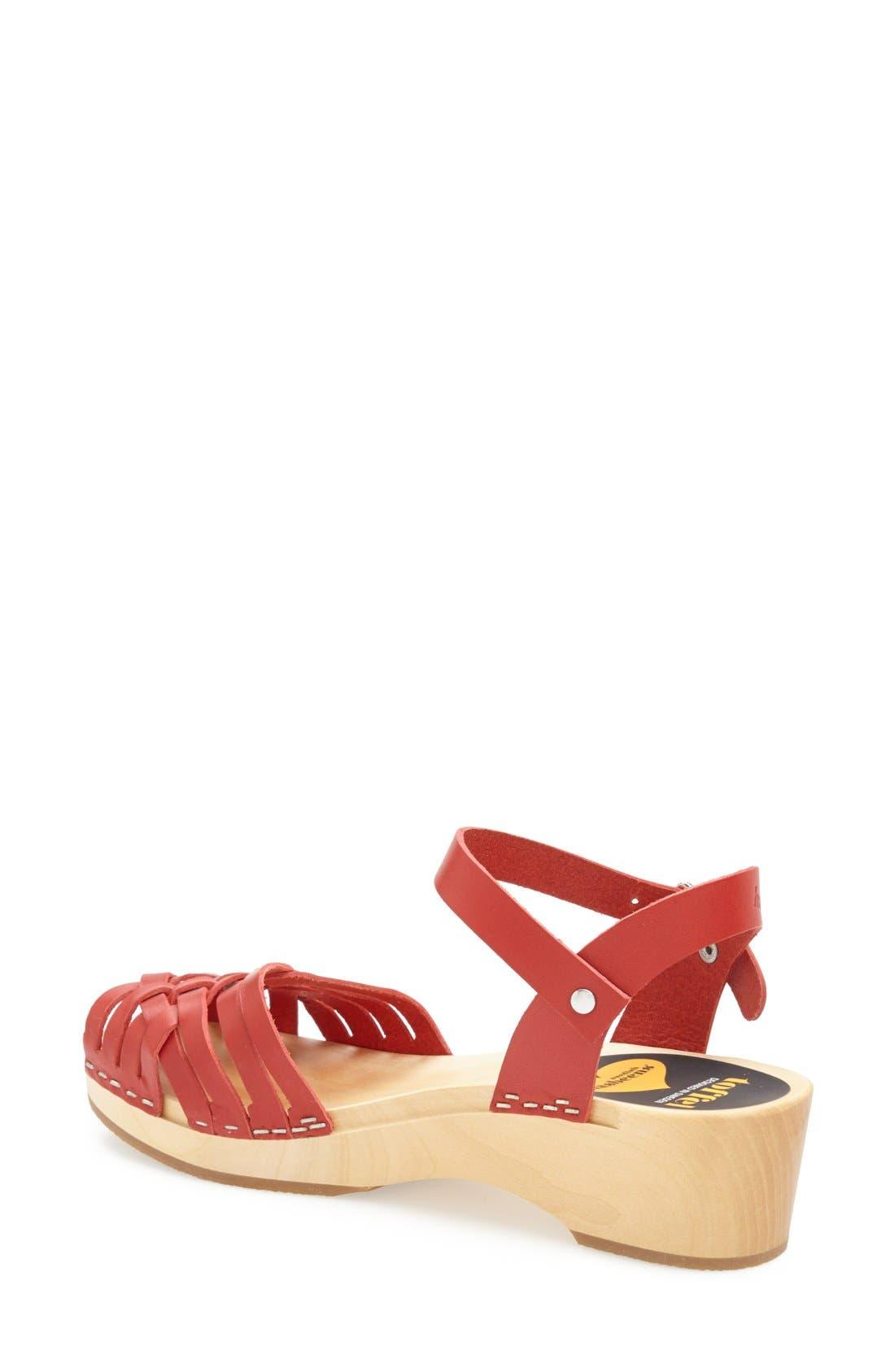 Alternate Image 2  - Swedish Hasbeens Braided Sandal