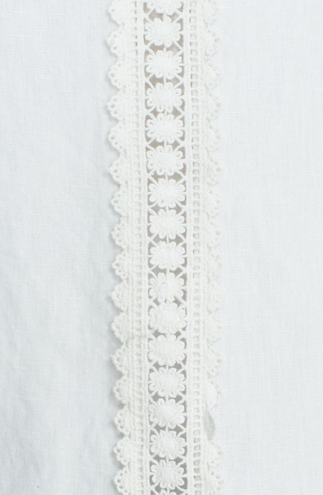 Alternate Image 3  - Free People Linen Blend High/Low Waistcoat