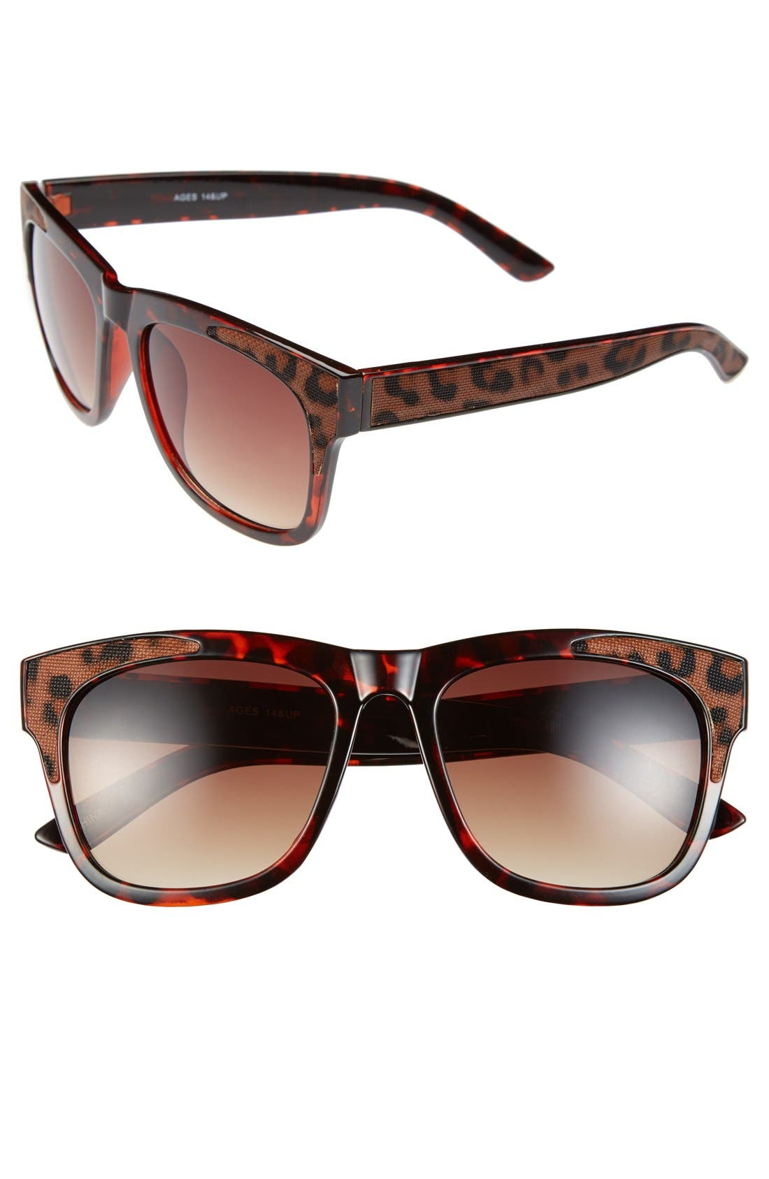 Main Image - FE NY 'Animal' 53mm Sunglasses