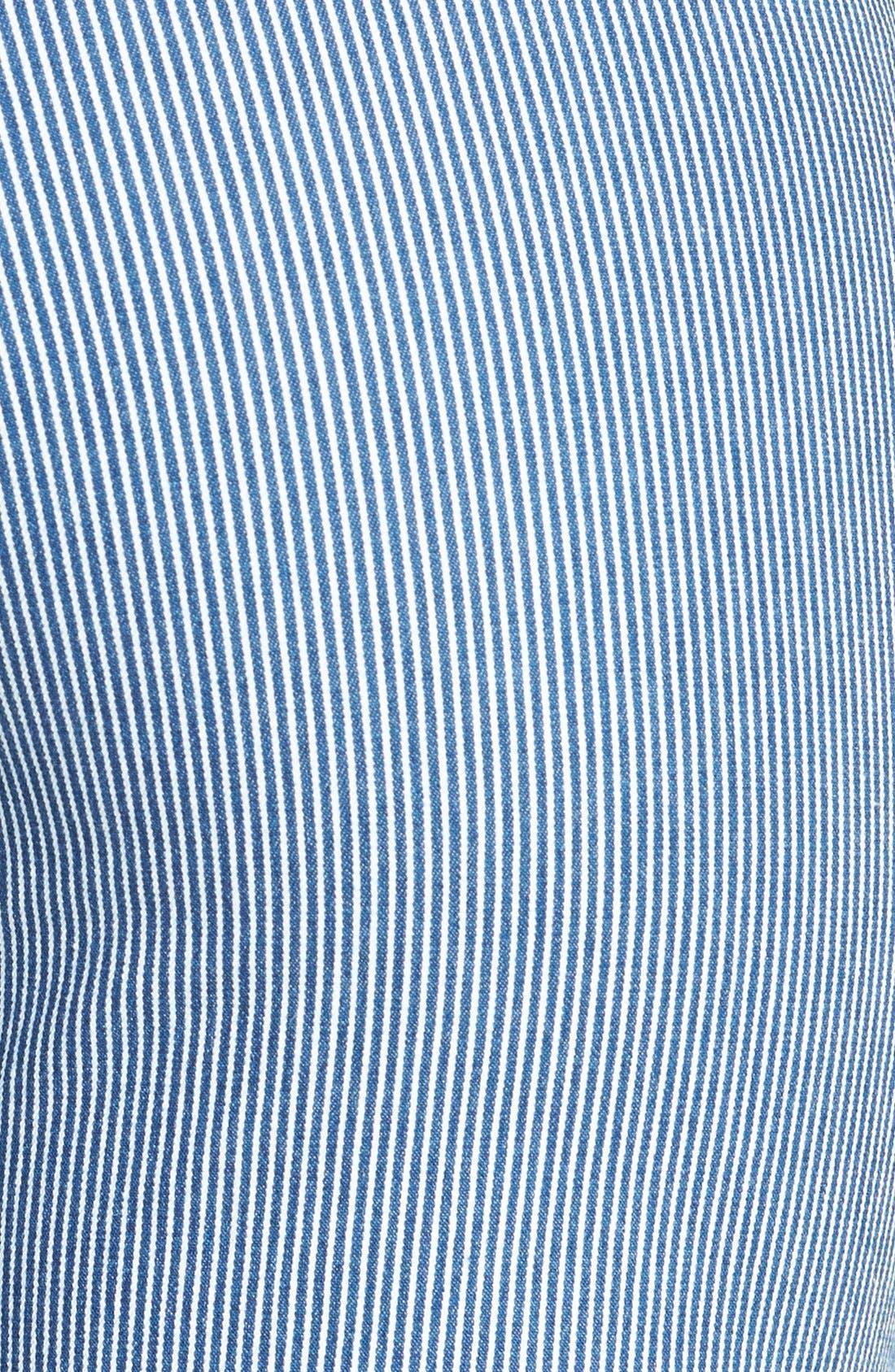 Alternate Image 3  - NYDJ 'Brianna' Stretch Denim Bermuda Shorts
