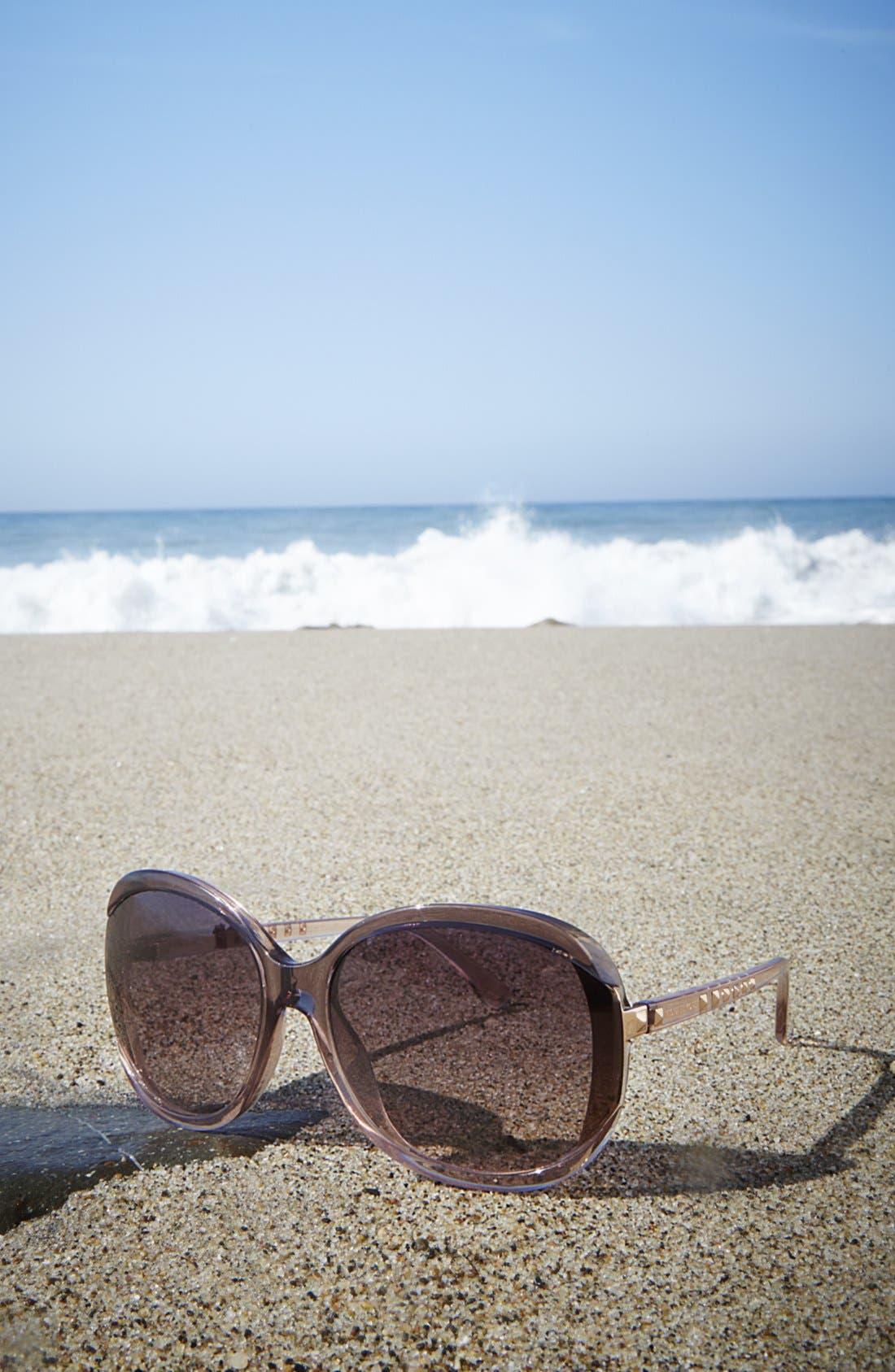 Alternate Image 3  - MICHAEL Michael Kors 'Kinsey' 64mm Gradient Lens Sunglasses