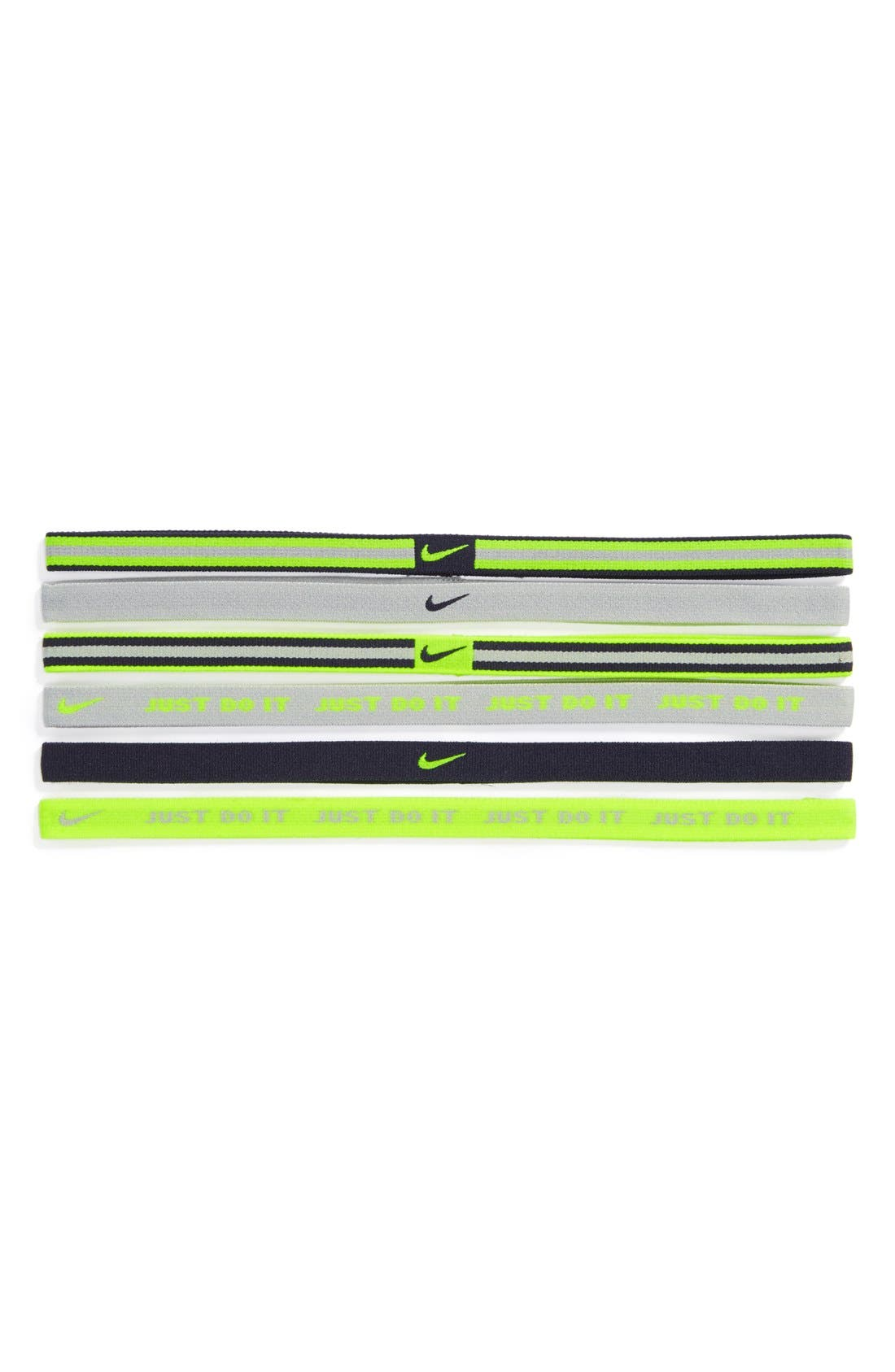 Main Image - Nike Wide Sport Headband (6-Pack)