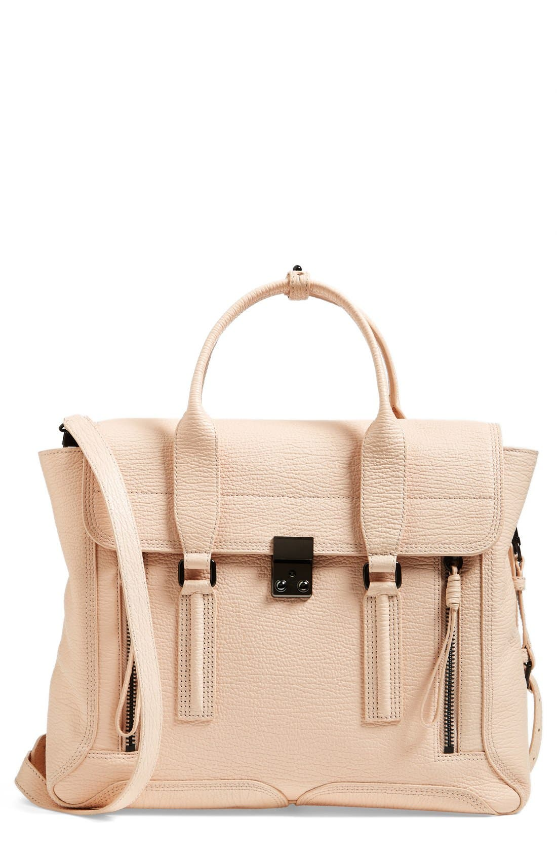 Alternate Image 1 Selected - 3.1 Phillip Lim 'Pashli' Leather Crossbody Satchel