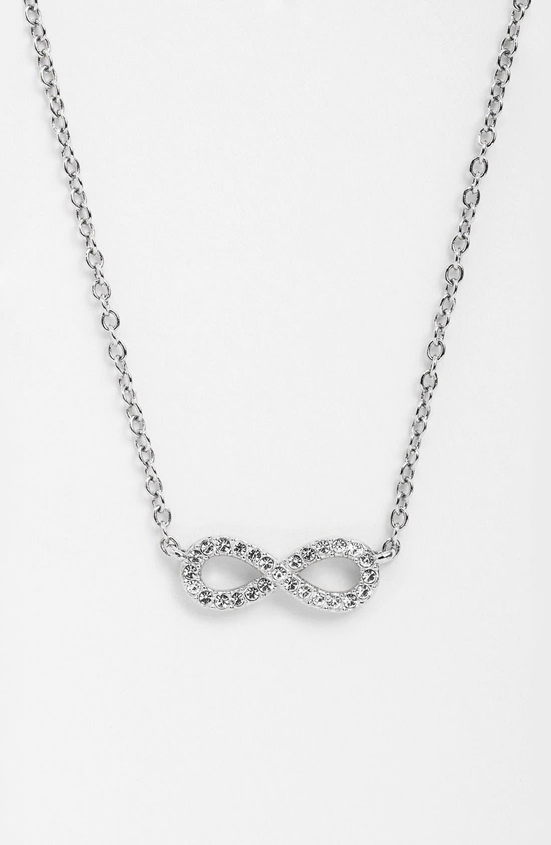 Alternate Image 1 Selected - Nadri Infinity Symbol Pendant Necklace