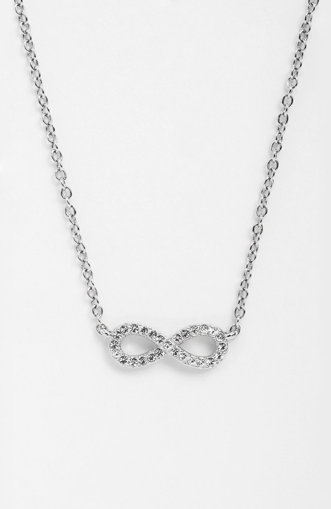 Main Image - Nadri Infinity Symbol Pendant Necklace