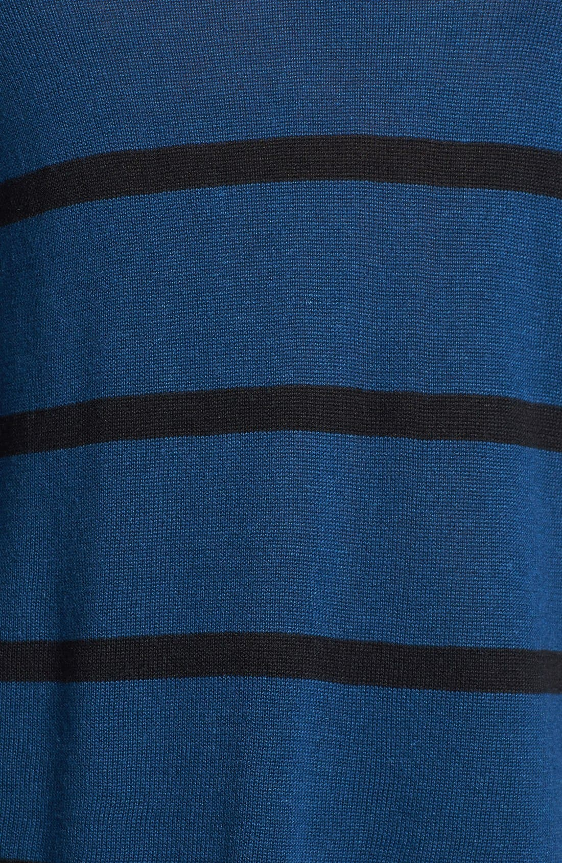 Alternate Image 3  - Two by Vince Camuto Stripe Split Neck Sweater