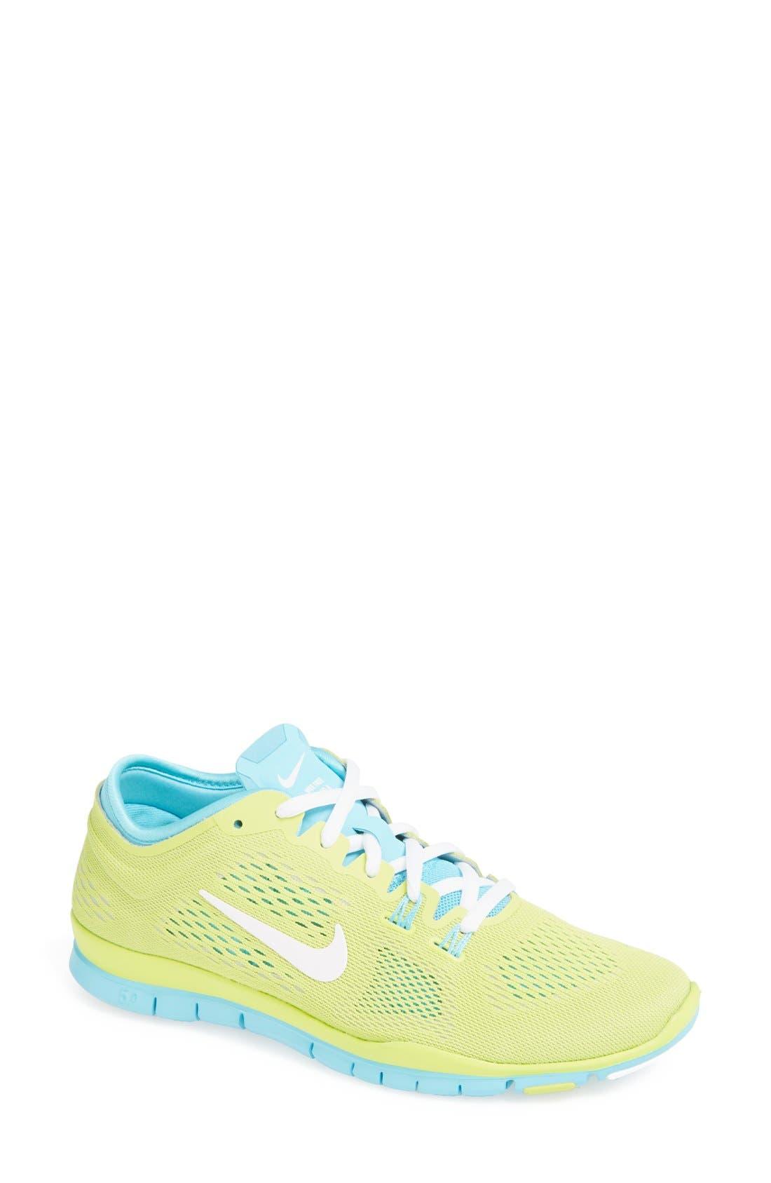 Alternate Image 1 Selected - Nike 'Free 5.0 TR Fit 4' Training Shoe (Women)
