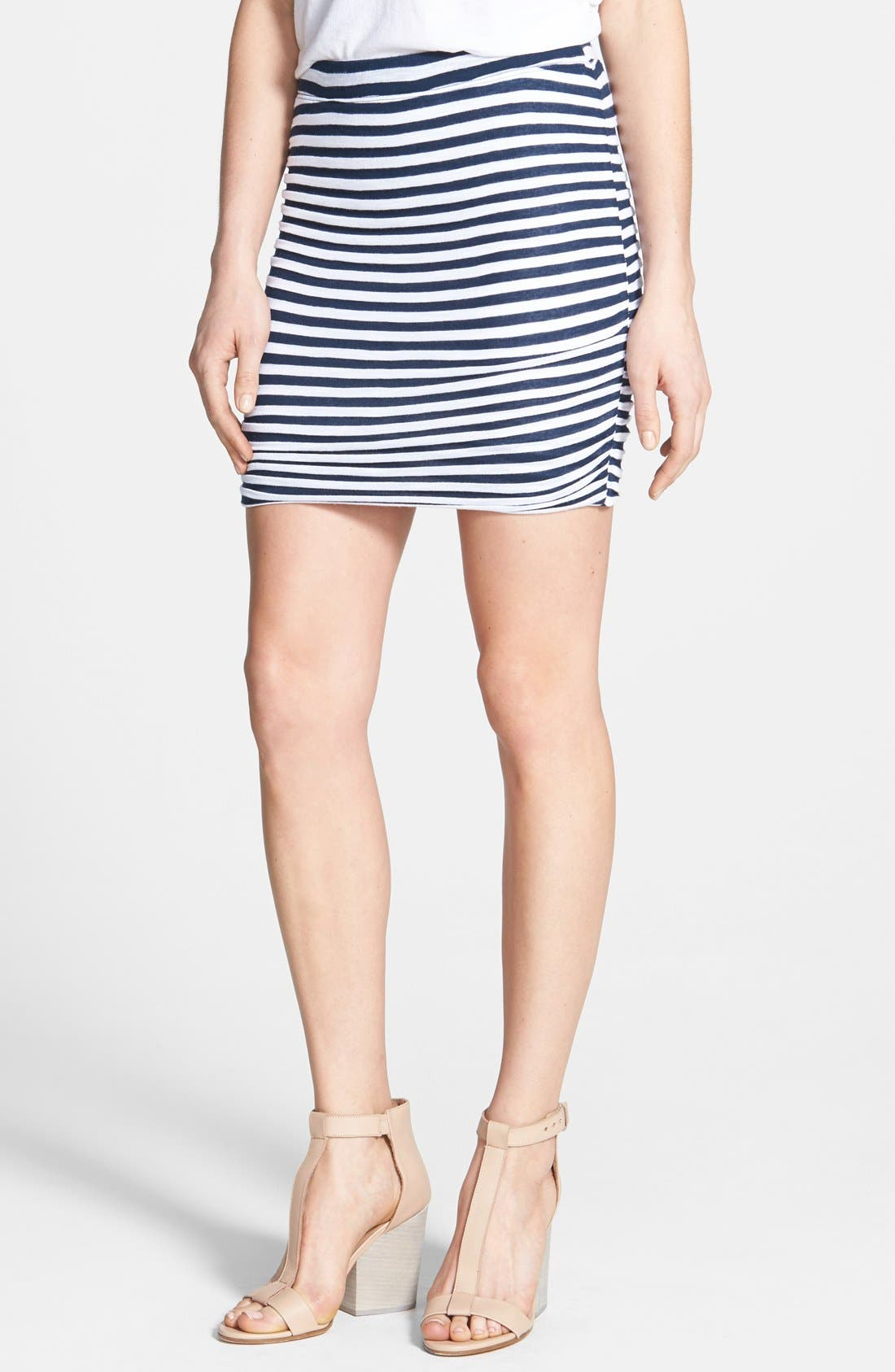 Alternate Image 1 Selected - Splendid 'Glen Valley' Stripe Miniskirt