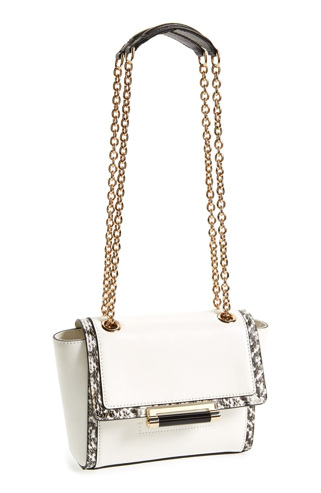 Alternate Image 1 Selected - Diane Von Furstenberg '440 - Mini' Leather Crossbody Bag