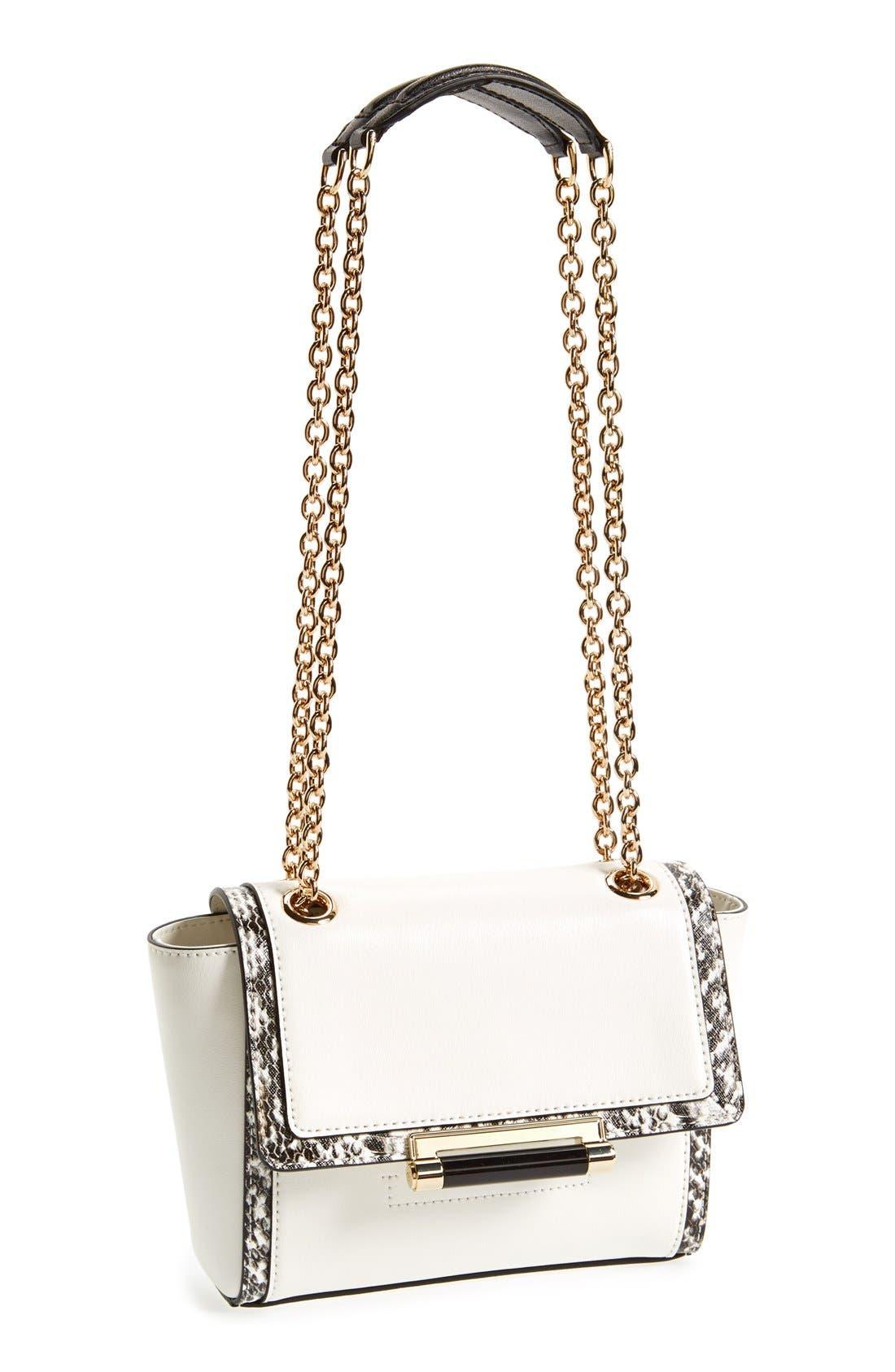 Main Image - Diane Von Furstenberg '440 - Mini' Leather Crossbody Bag