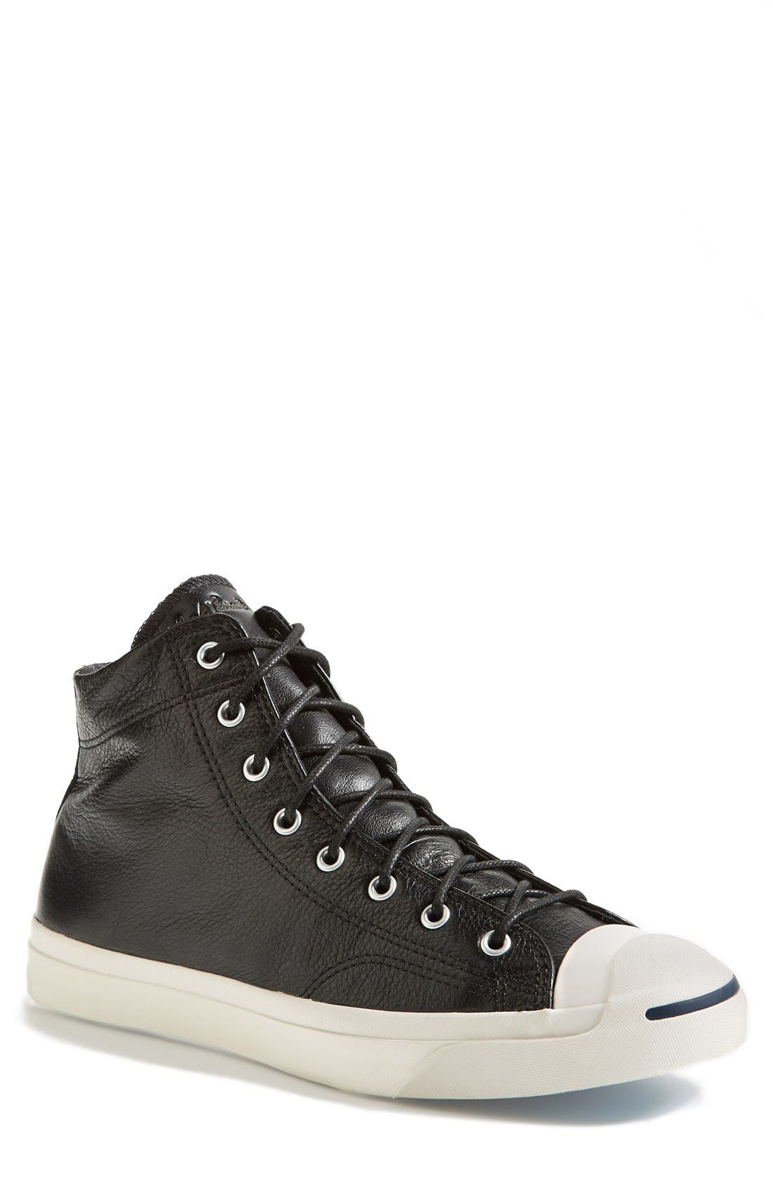 Alternate Image 1 Selected - Converse 'Jack Purcell - Jack Mid' Sneaker (Men) (Online Only)