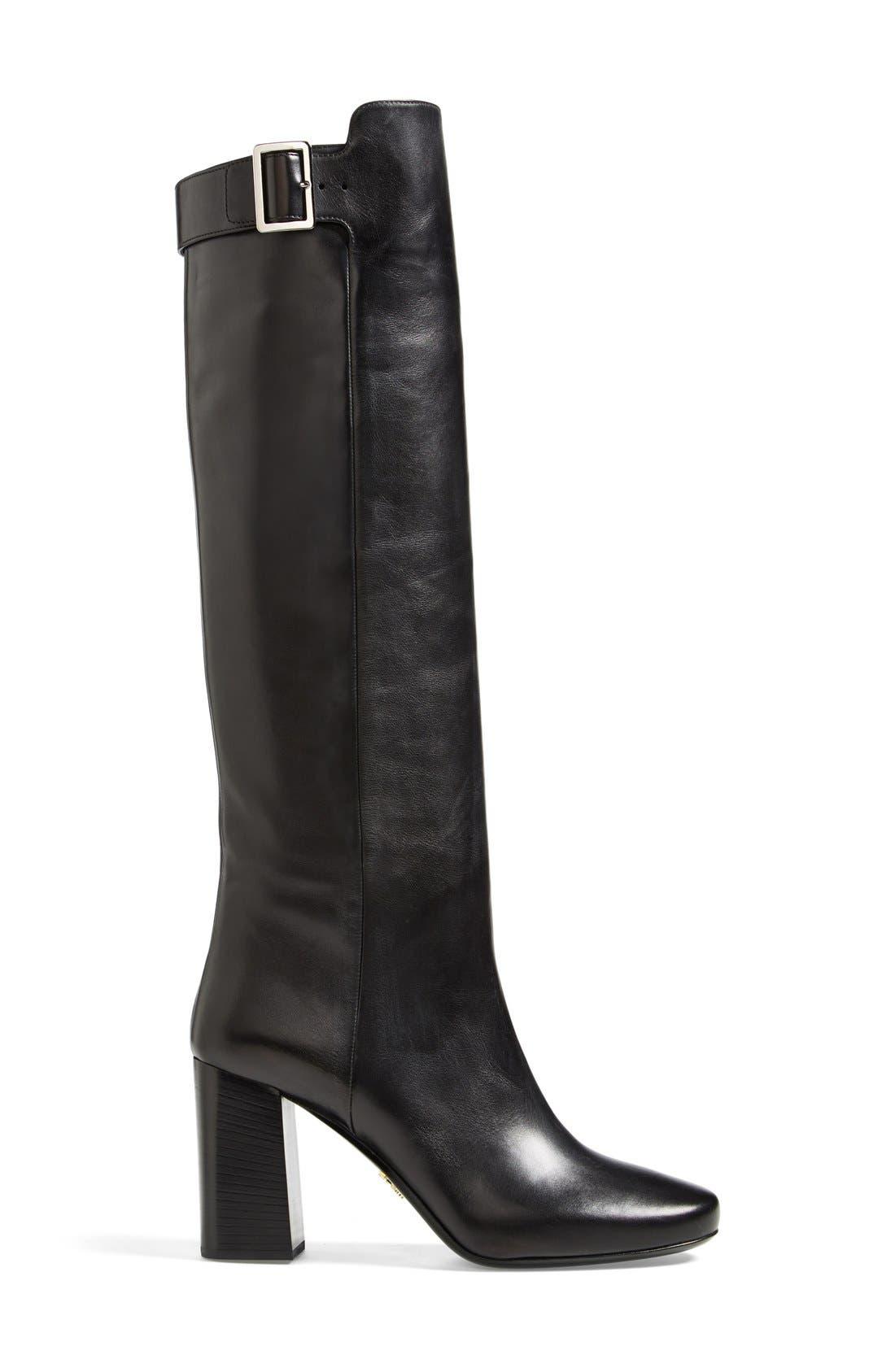 Alternate Image 4  - Prada Tall Boot