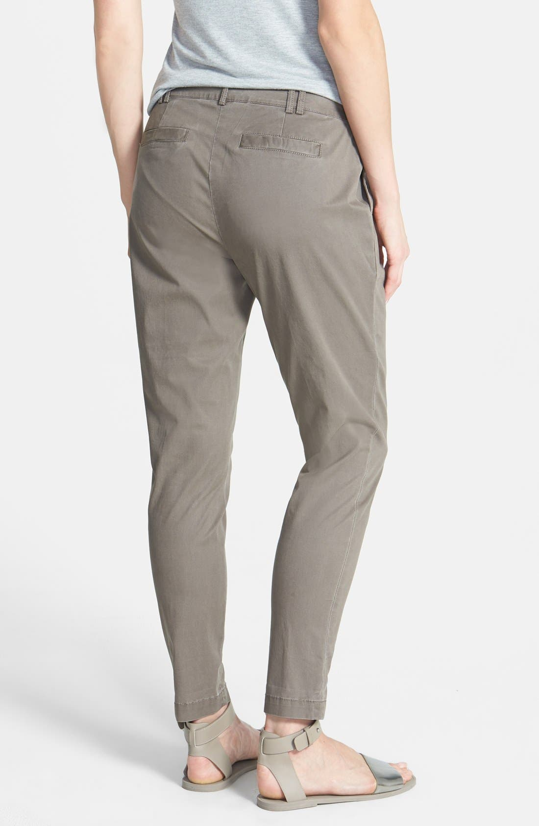 Alternate Image 2  - Eileen Fisher Twill Ankle Trousers