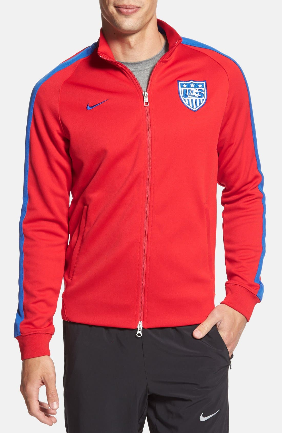 Alternate Image 1 Selected - Nike 'USA - N98 World Cup Authentic' Track Jacket
