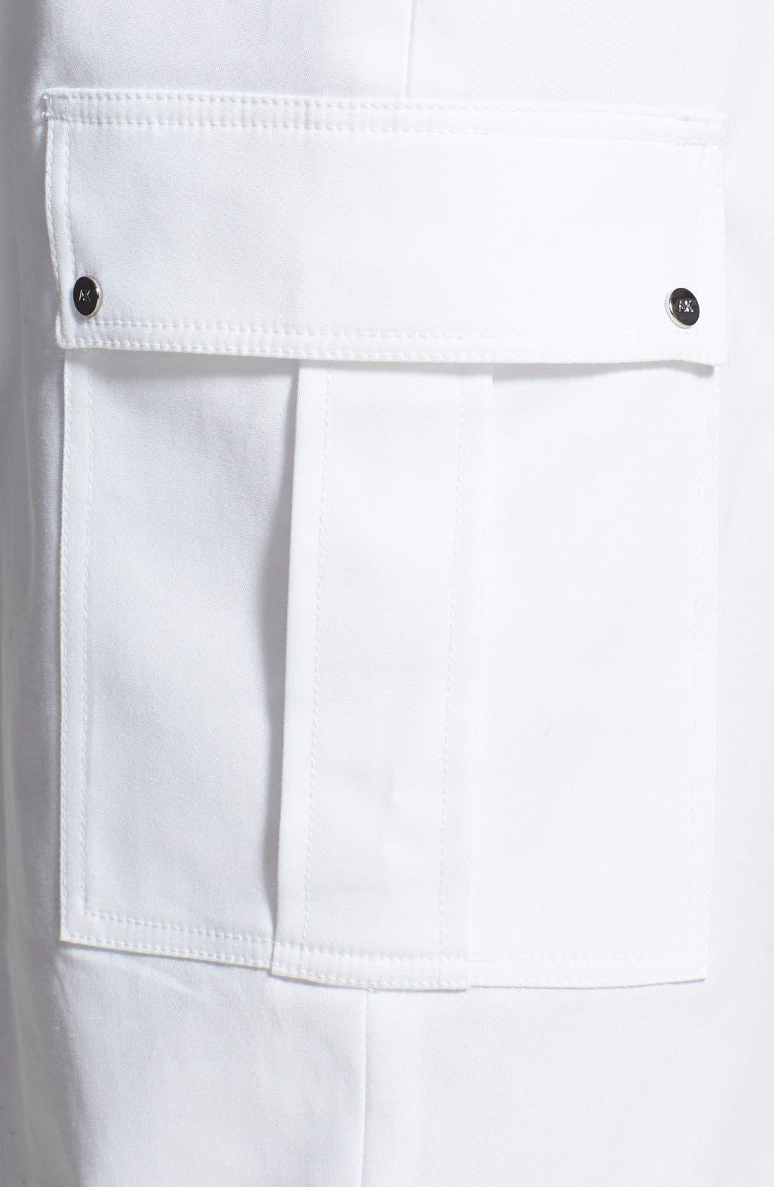 Alternate Image 3  - Anne Klein Cargo Capri Pants (Plus Size)