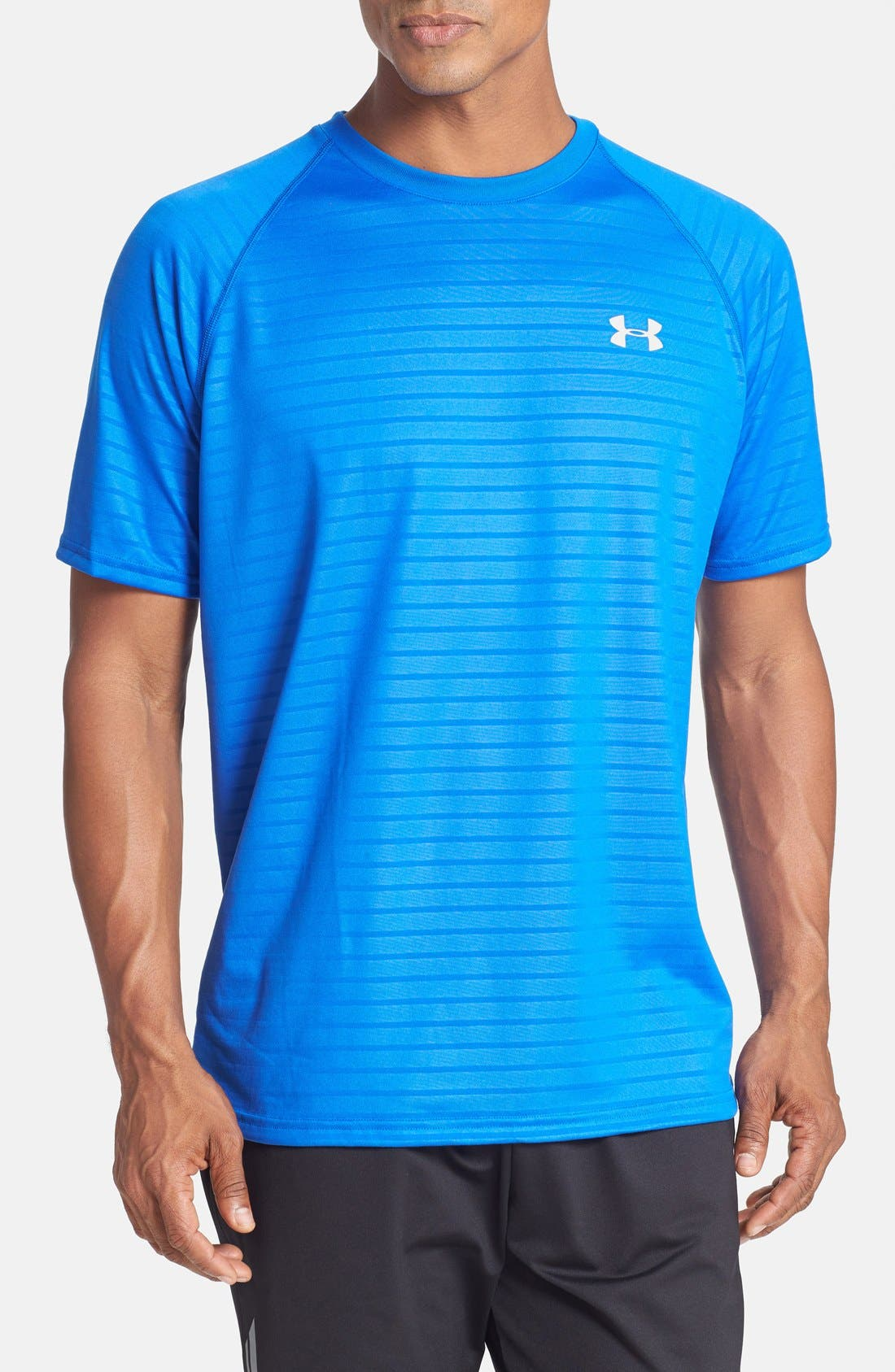 Alternate Image 1 Selected - Under Armour 'UA Tech™ Embossed' Loose Fit T-Shirt