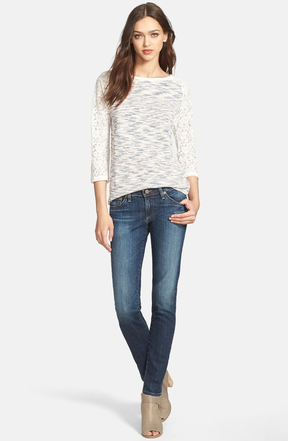 Alternate Image 11  - AG 'The Stilt' Cigarette Leg Stretch Jeans (Eleven Year Intrigue) (Nordstrom Exclusive)