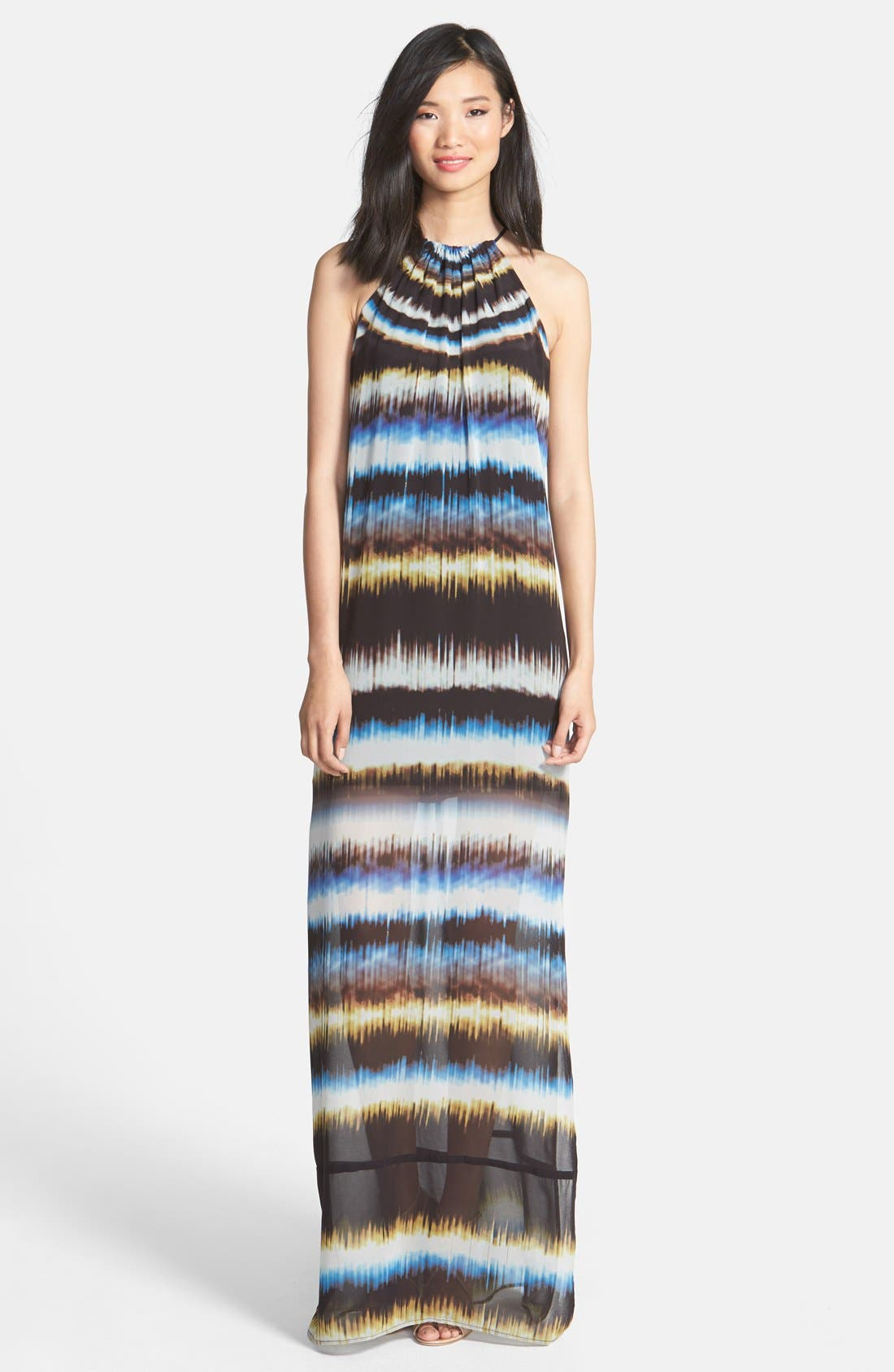 Main Image - Trina Turk 'Milian' Tie Dye Georgette Maxi Dress