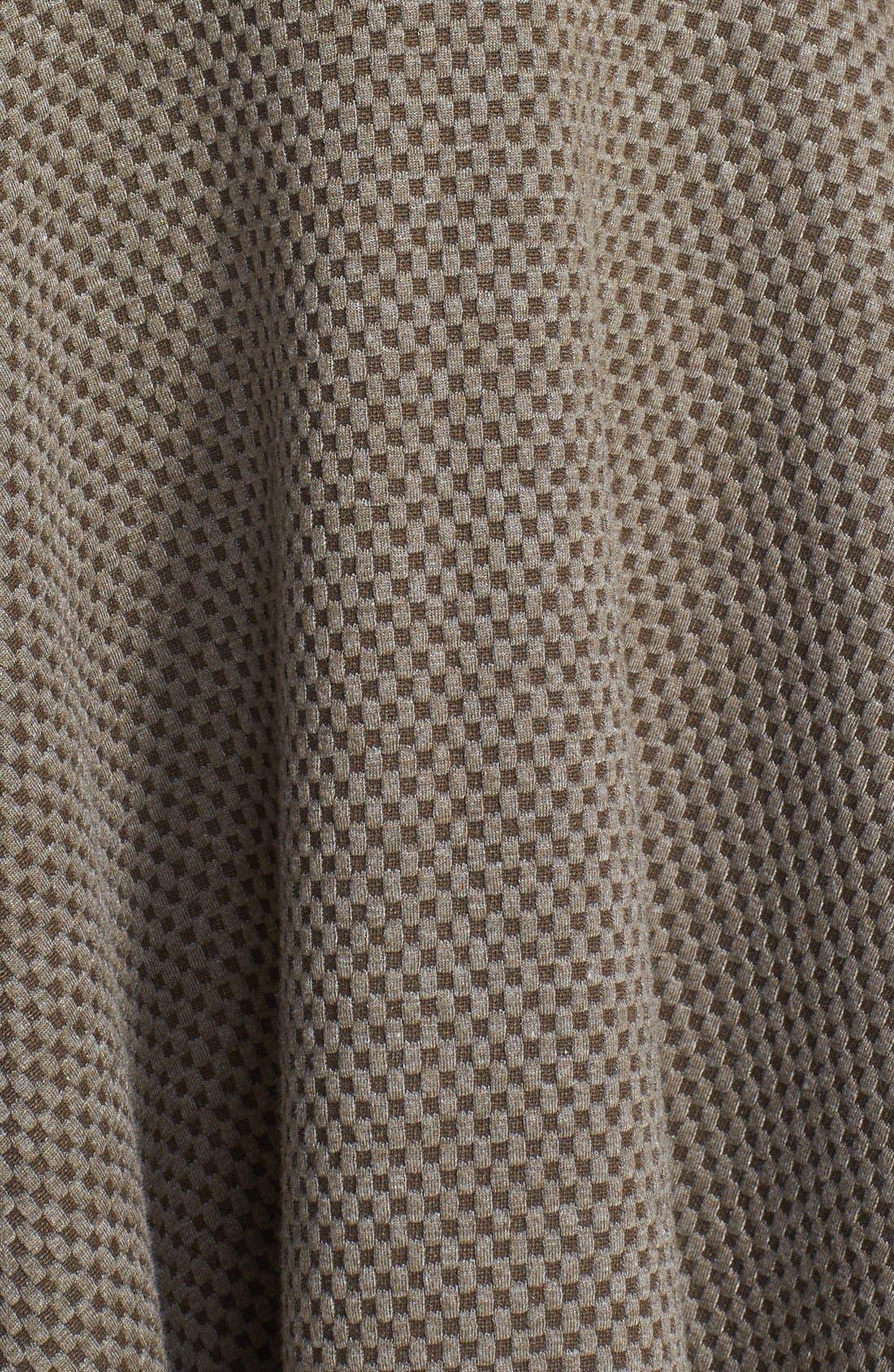 Alternate Image 3  - Olive & Oak Textured Fit & Flare Dress