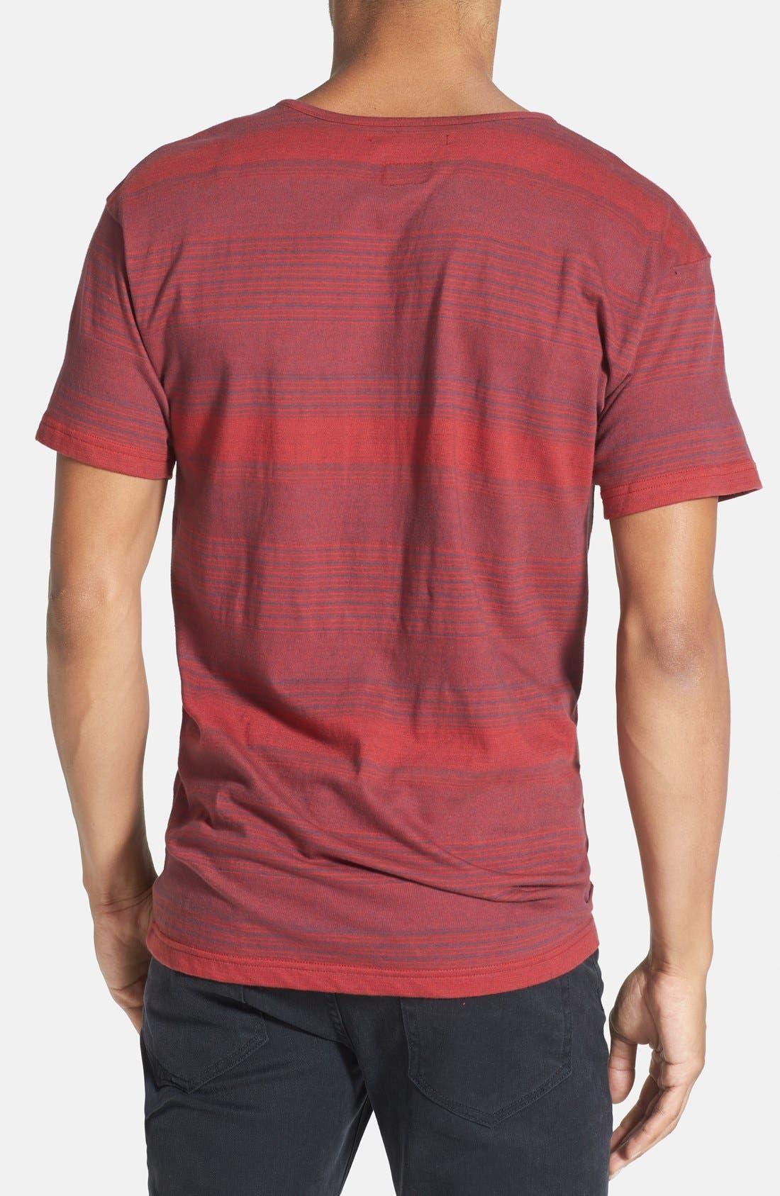 Alternate Image 2  - RVCA 'Hipe Stripe' Short Sleeve Henley