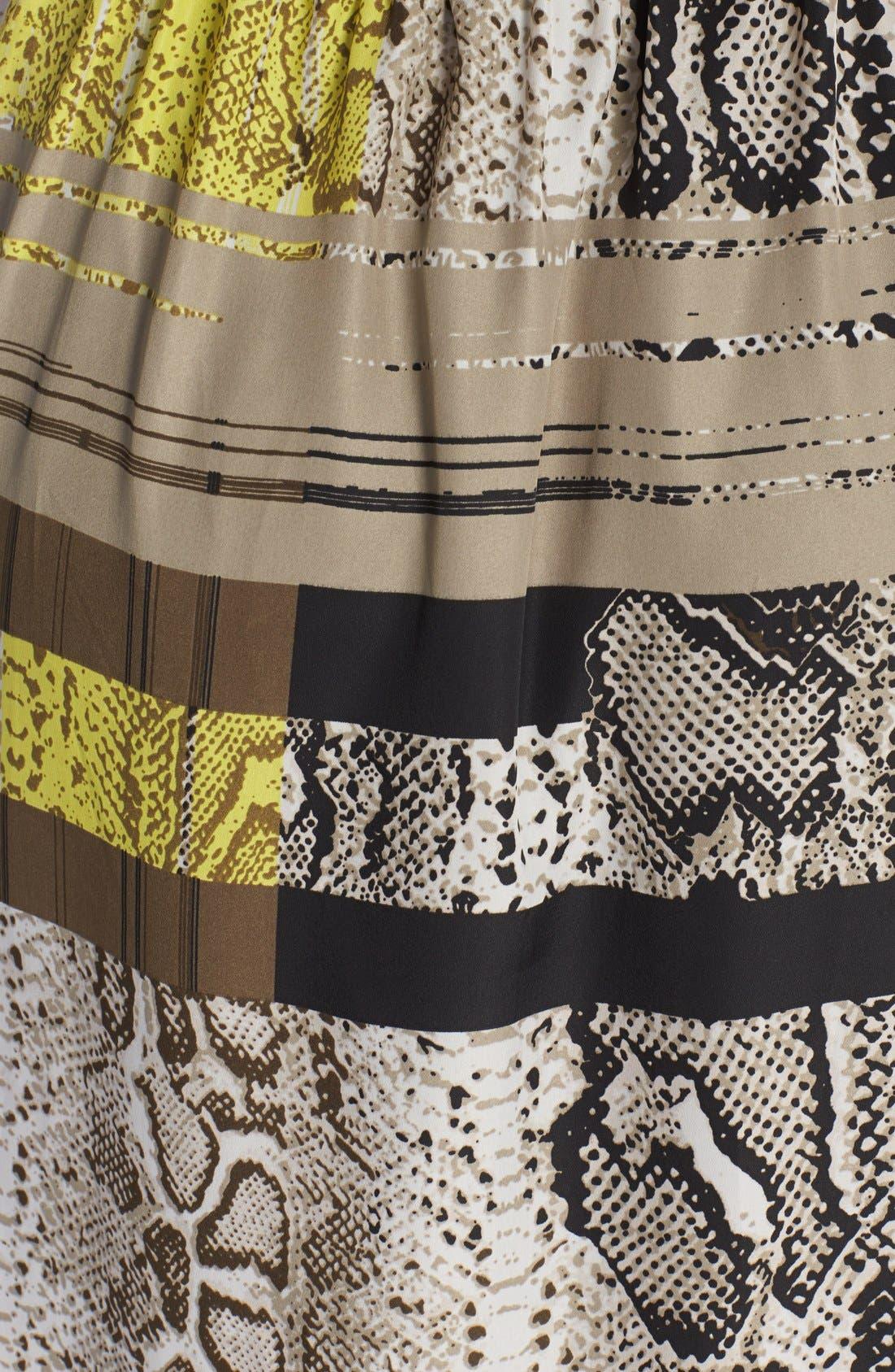 Alternate Image 3  - Vince Camuto Neo Snakeskin Print Maxi Dress (Plus Size)
