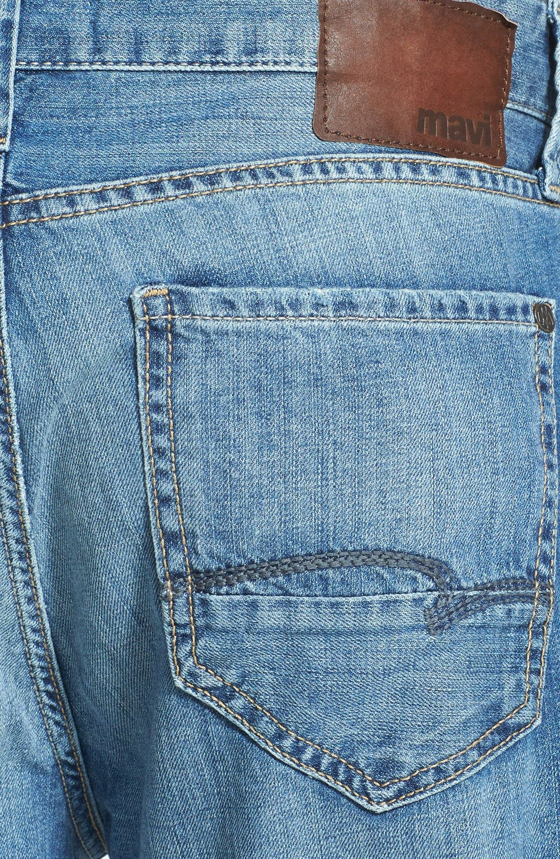 Alternate Image 4  - Mavi Jeans 'Max' Relaxed Fit Jeans (Used Summer)