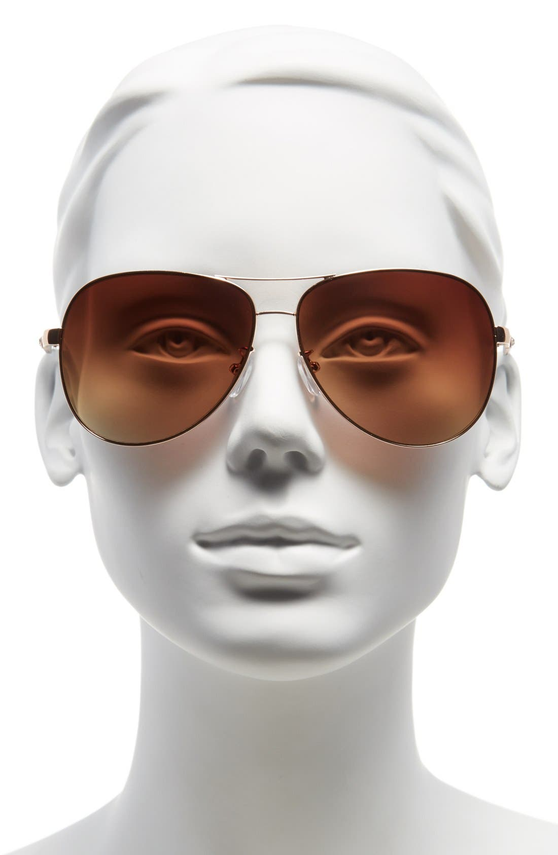Alternate Image 2  - Icon Eyewear 60mm Aviator Sunglasses