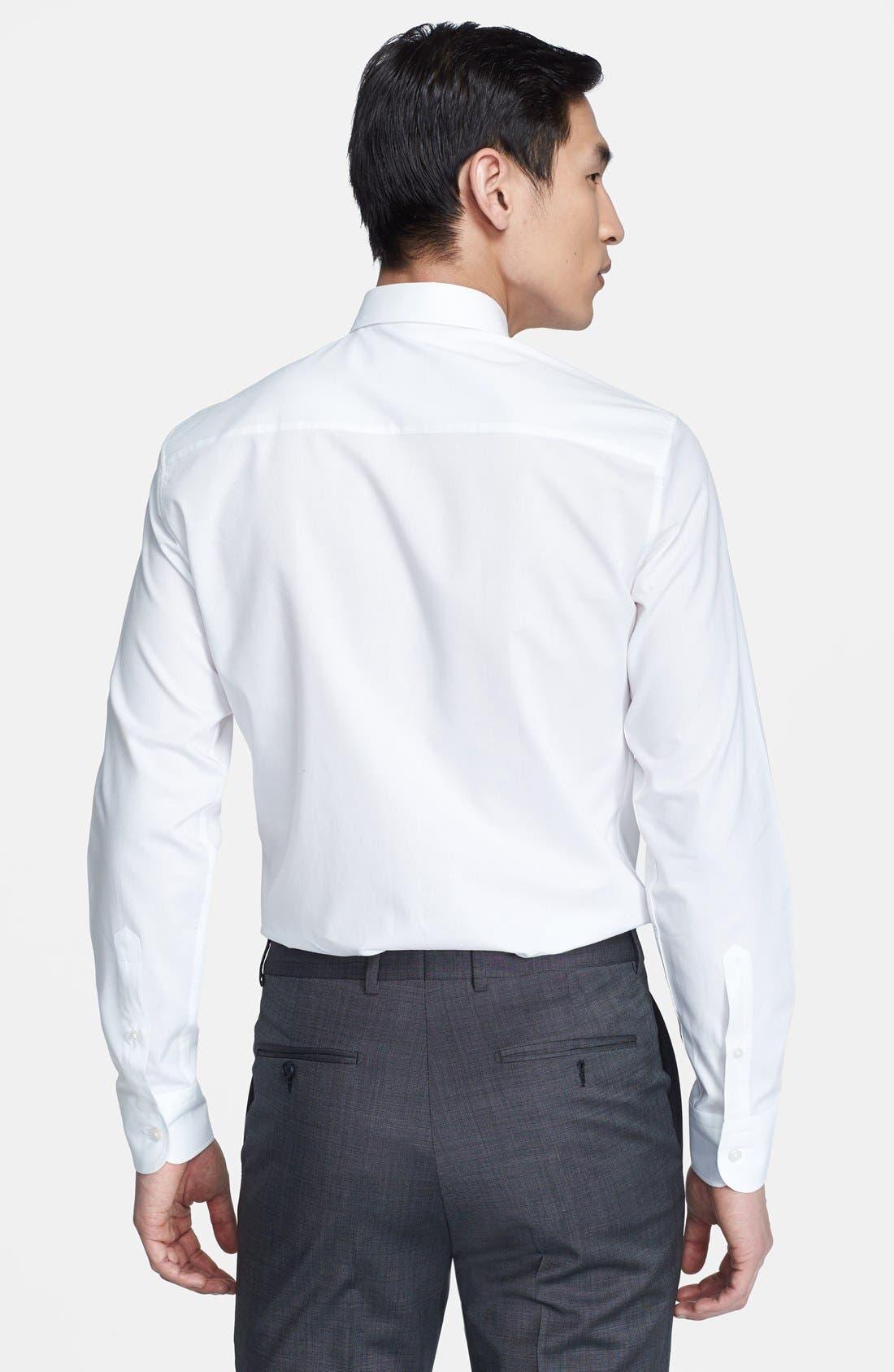 Alternate Image 2  - Z Zegna Drop 8 Fit Tonal Diamond Print Dress Shirt