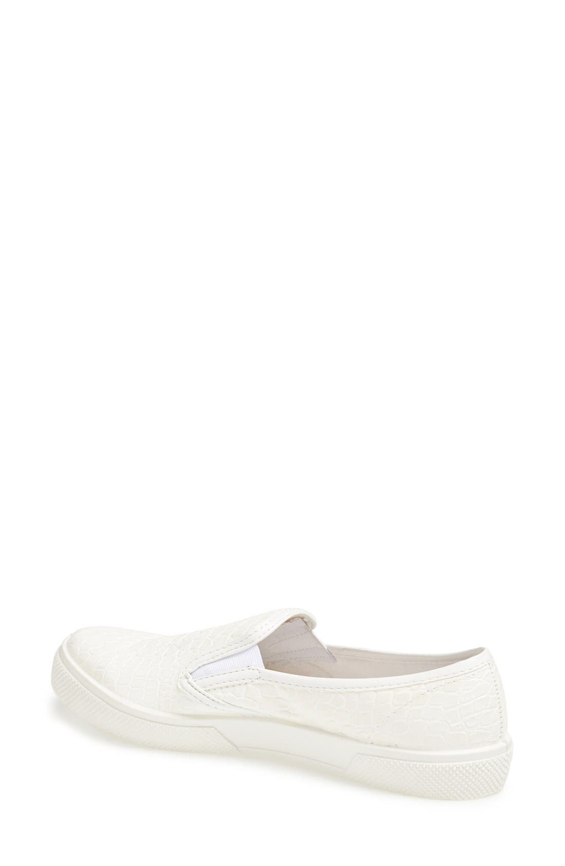 Alternate Image 2  - Topshop 'Tika2' Croc Embossed Slip-On