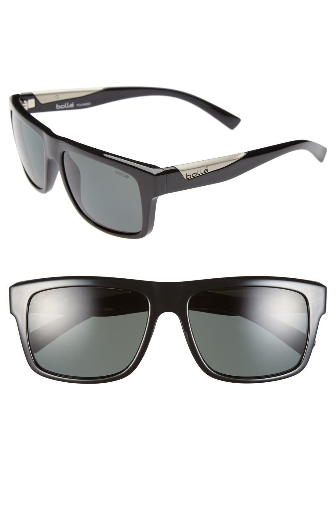 Alternate Image 1 Selected - Bolle 'Clint' 57mm Polarized Sunglasses