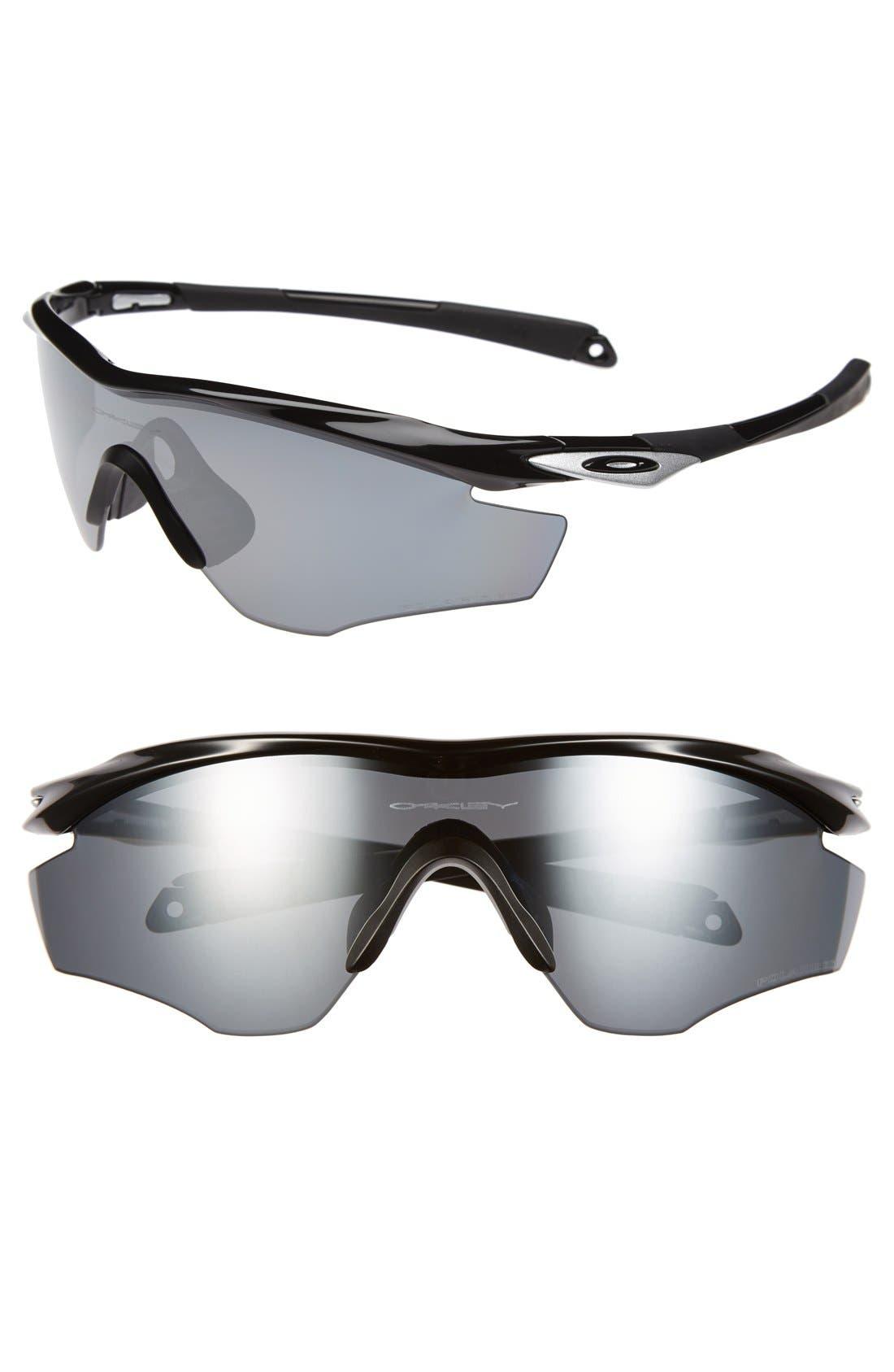 Alternate Image 1 Selected - Oakley 'M2 Frame' 175mm Polarized Shield Sunglasses