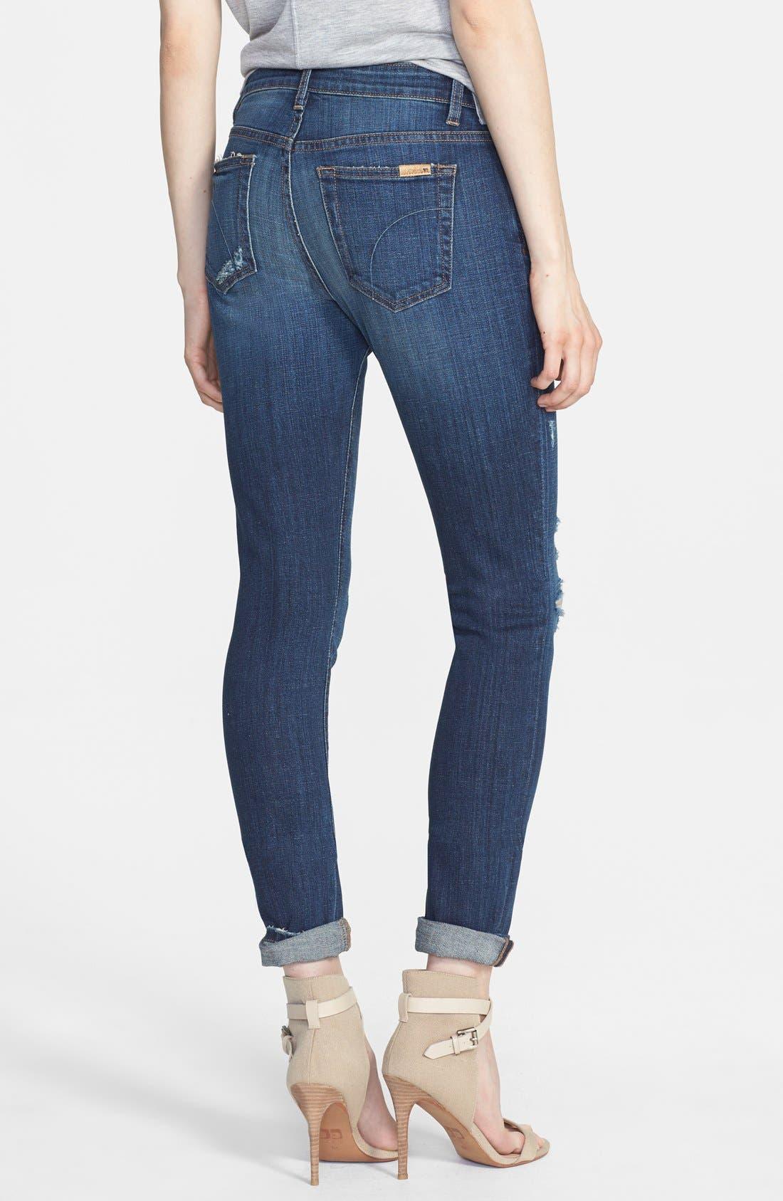 Alternate Image 2  - Joe's Distressed Relaxed Slim Jeans (Riri)