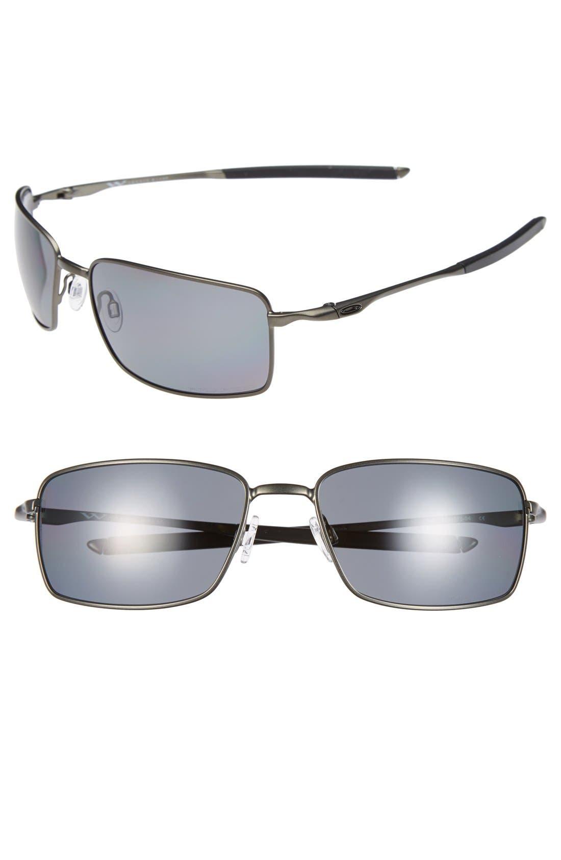 Alternate Image 1 Selected - Oakley 60mm Polarized Sunglasses