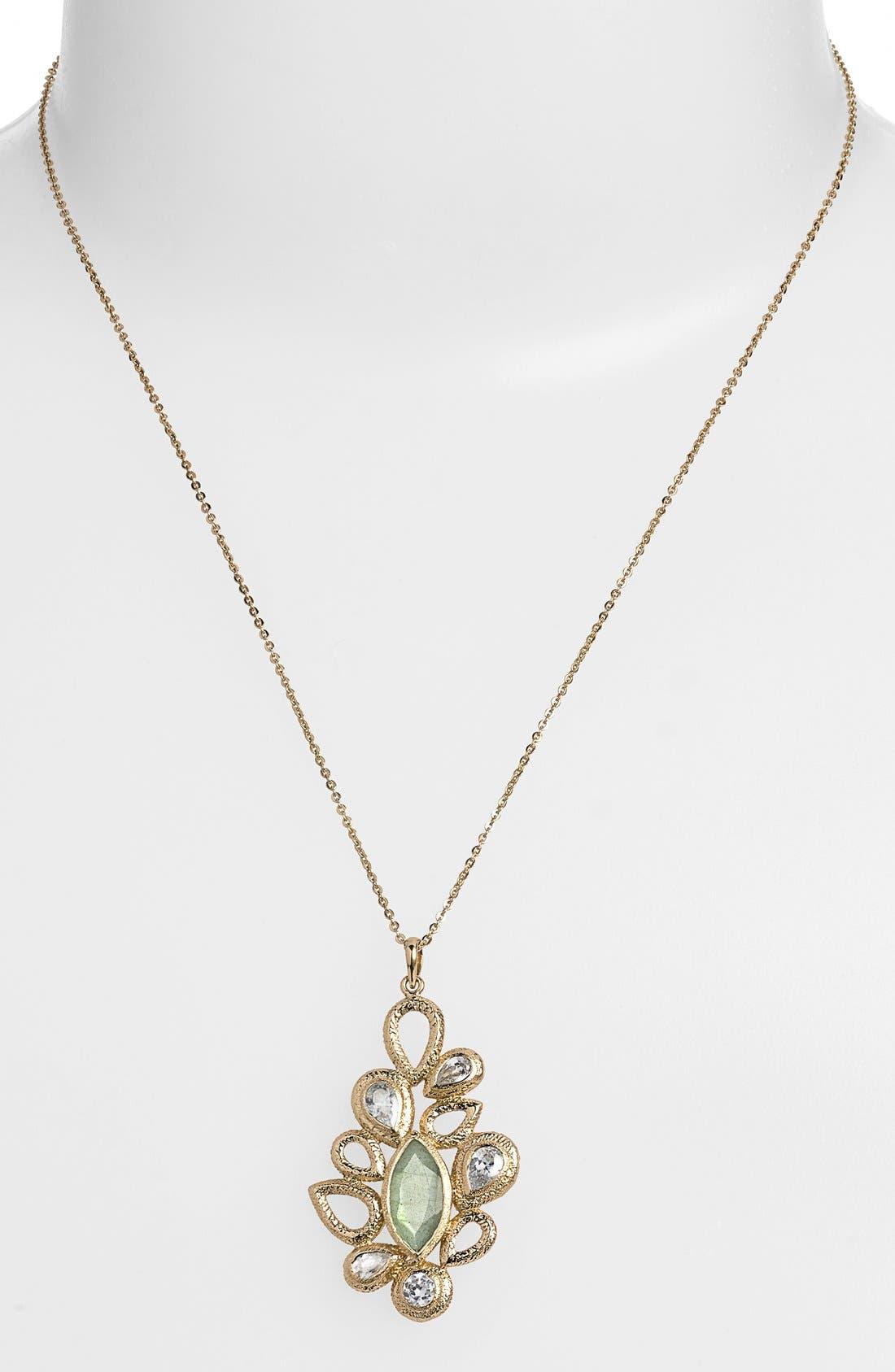Alternate Image 1 Selected - Melinda Maria 'Theo' Pod Pendant Necklace
