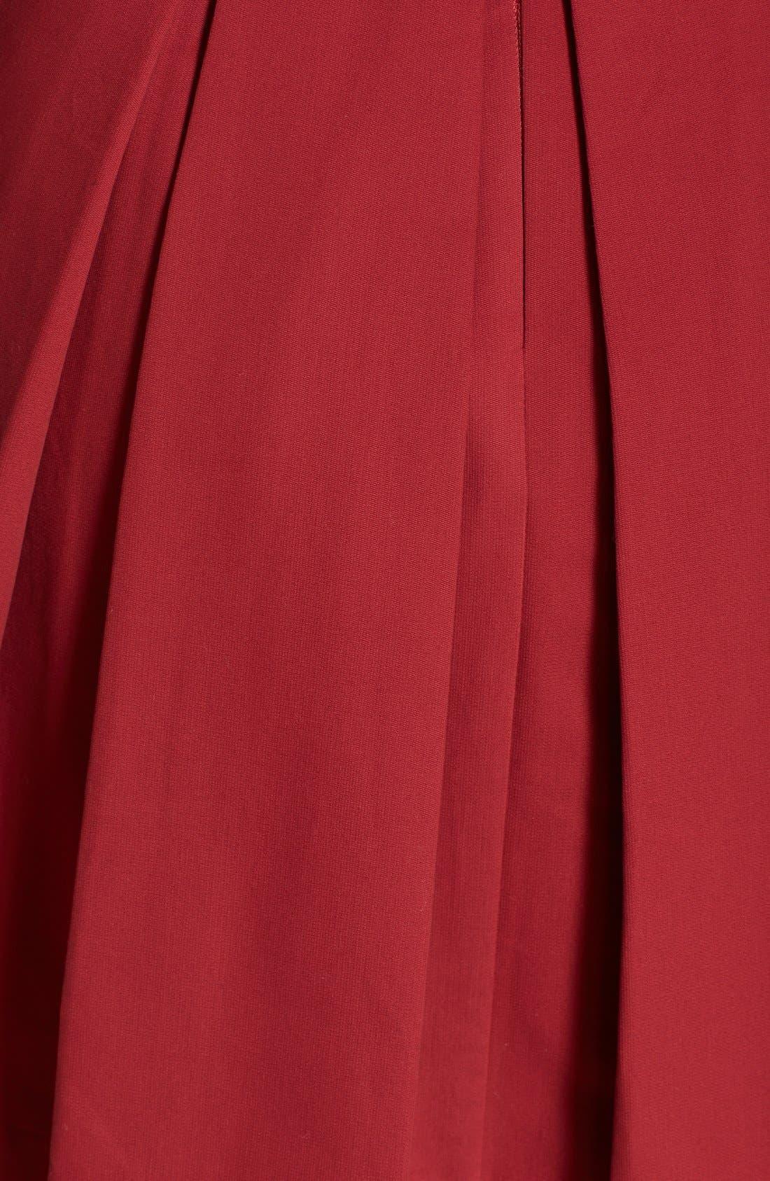 Alternate Image 4  - BB Dakota 'Dane' Pleat Fit & Flare Dress